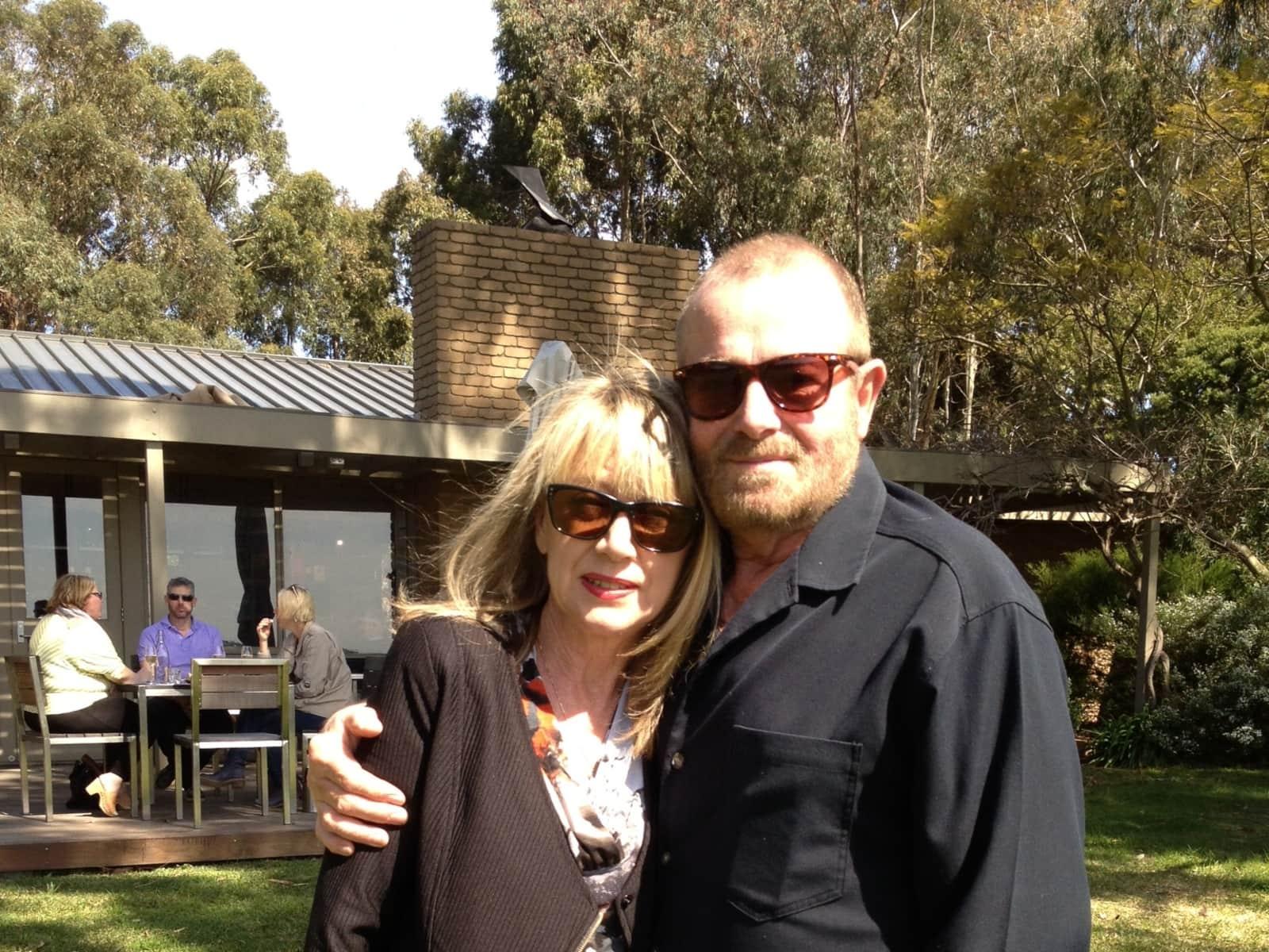 Susan & Antony from Melbourne, Victoria, Australia