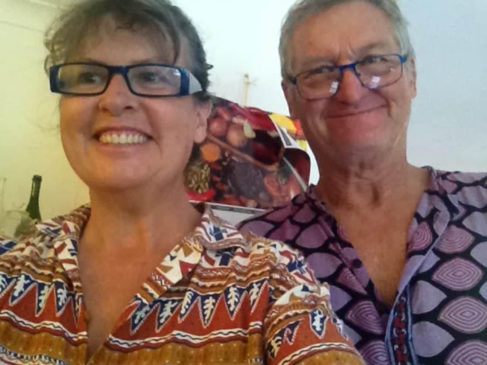 Linda & Rob from Buderim, Queensland, Australia
