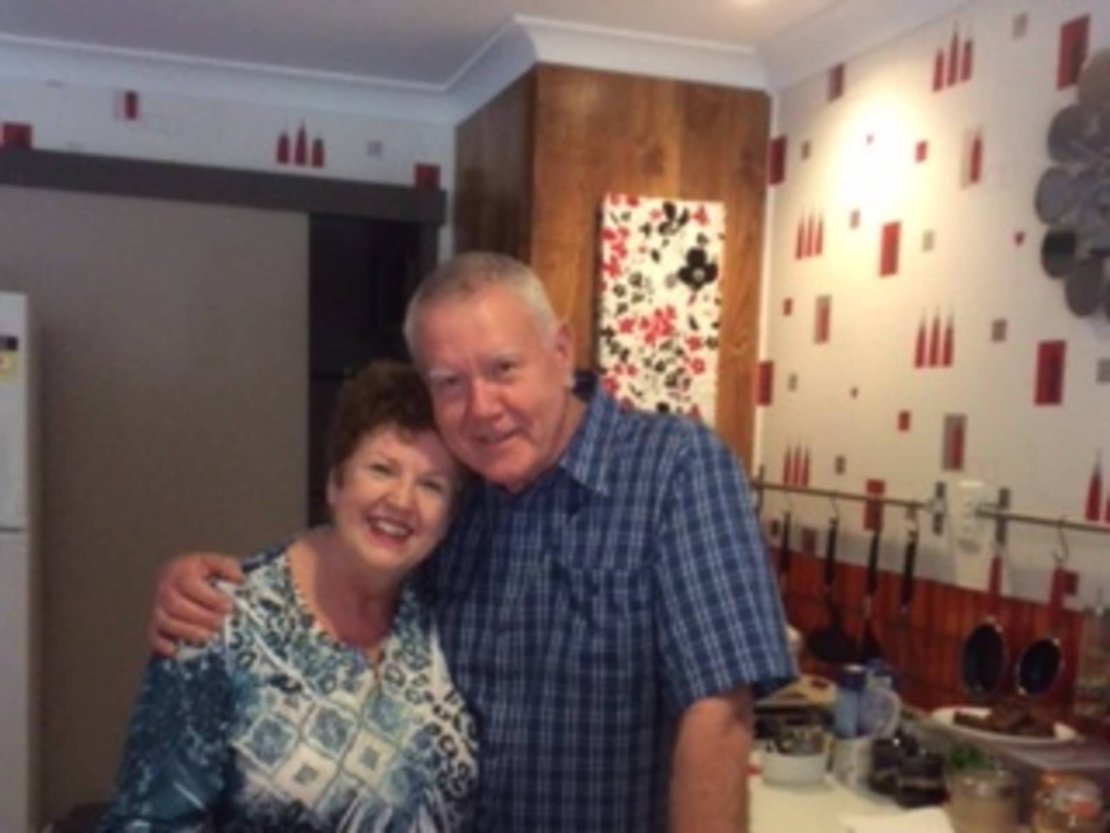 Margaret & Edwyn from Brisbane, Queensland, Australia