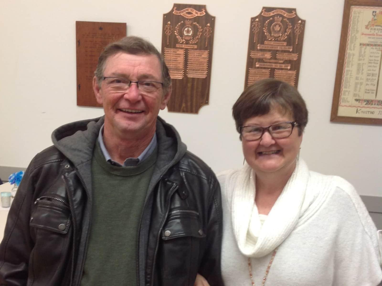 Brenda & John from Tuffnell, Saskatchewan, Canada