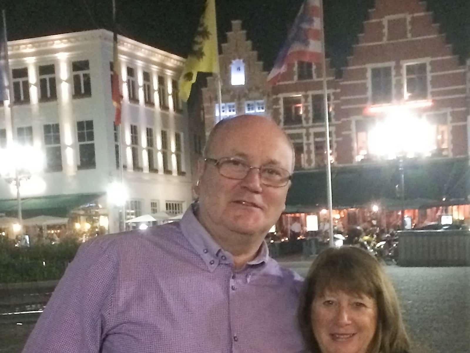 Desmond & Anne from Glasgow, United Kingdom