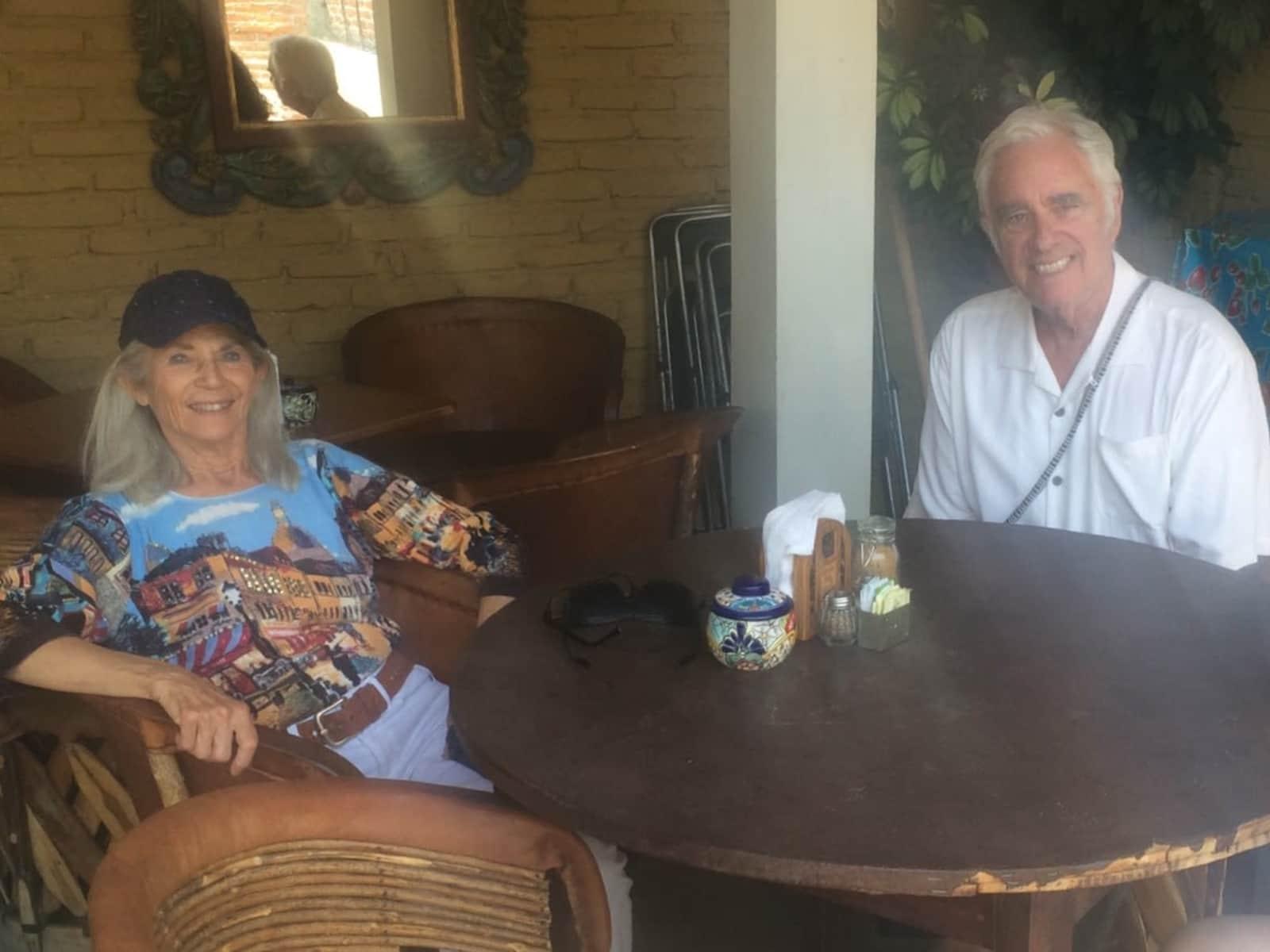 Marcia & Stanley from San Miguel de Allende, Mexico