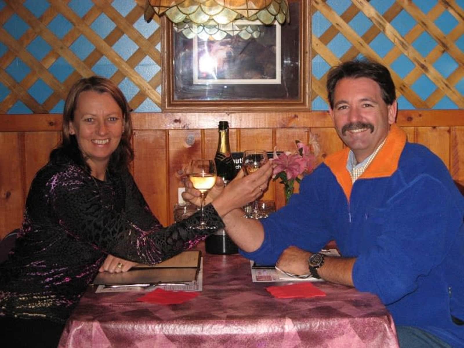 Shane & Judy from Geelong, Victoria, Australia