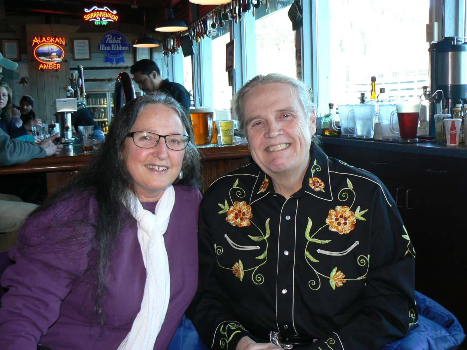 Linda & Mark from Juneau, Alaska, United States