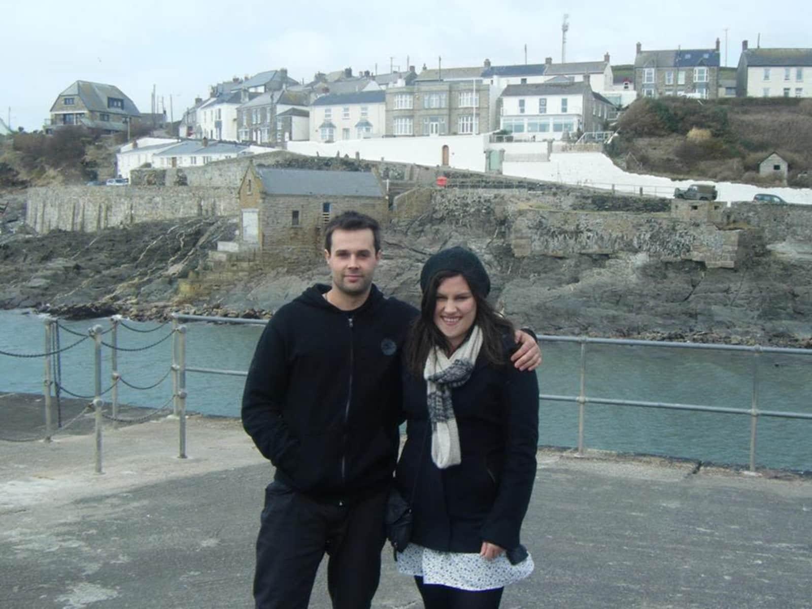 Cassie & Ben from Wellington, New Zealand