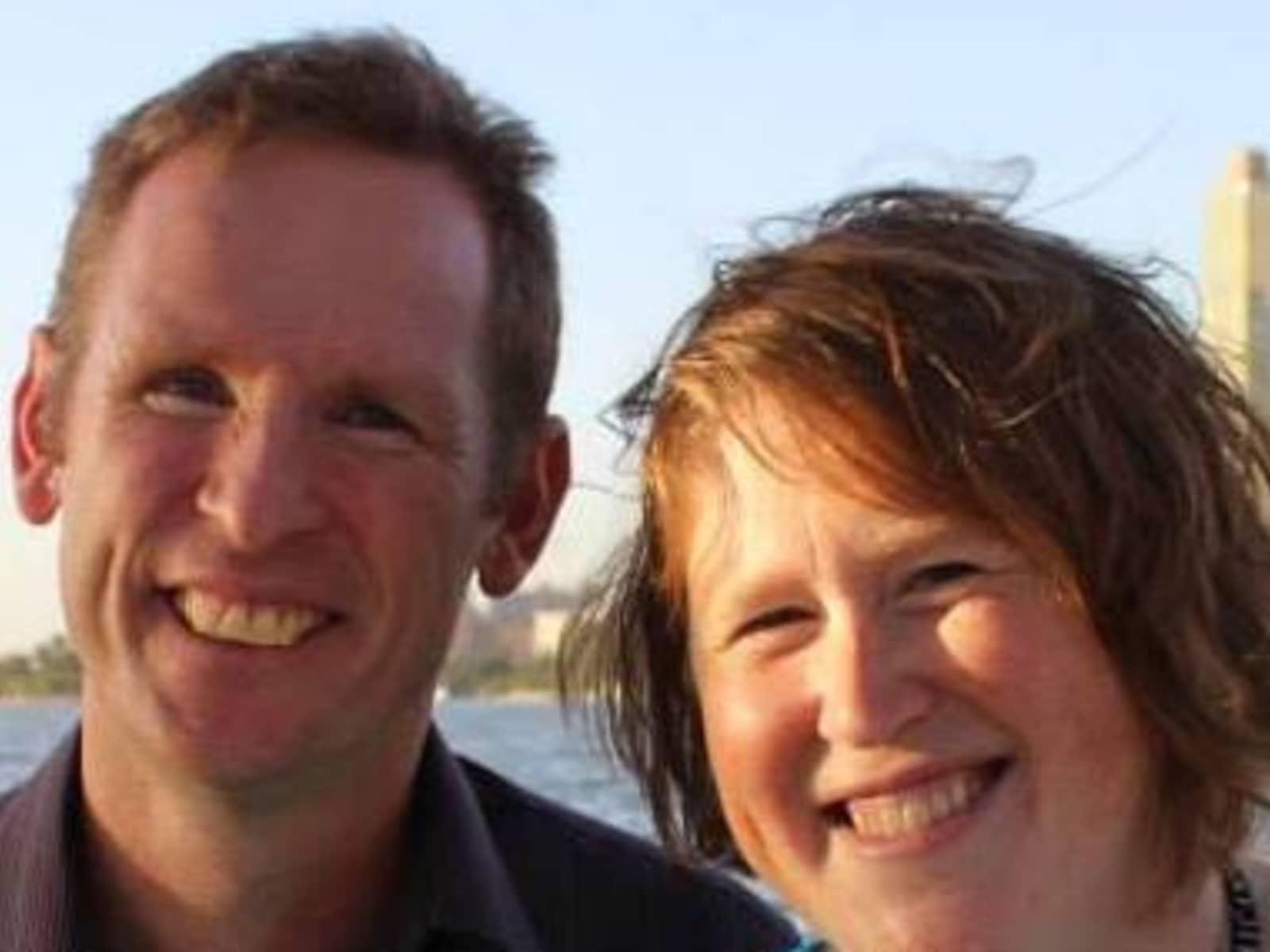 Heather & Chris from São Paulo, Brazil