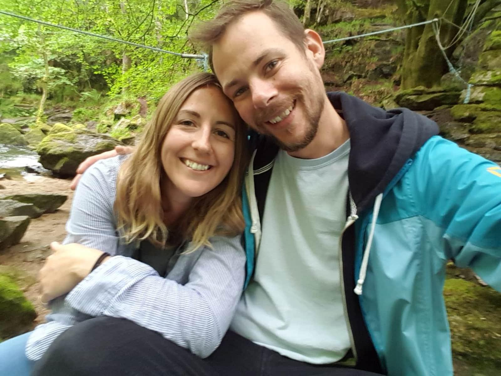 Joe & Sarah (raffy) from Brockley Hill, United Kingdom