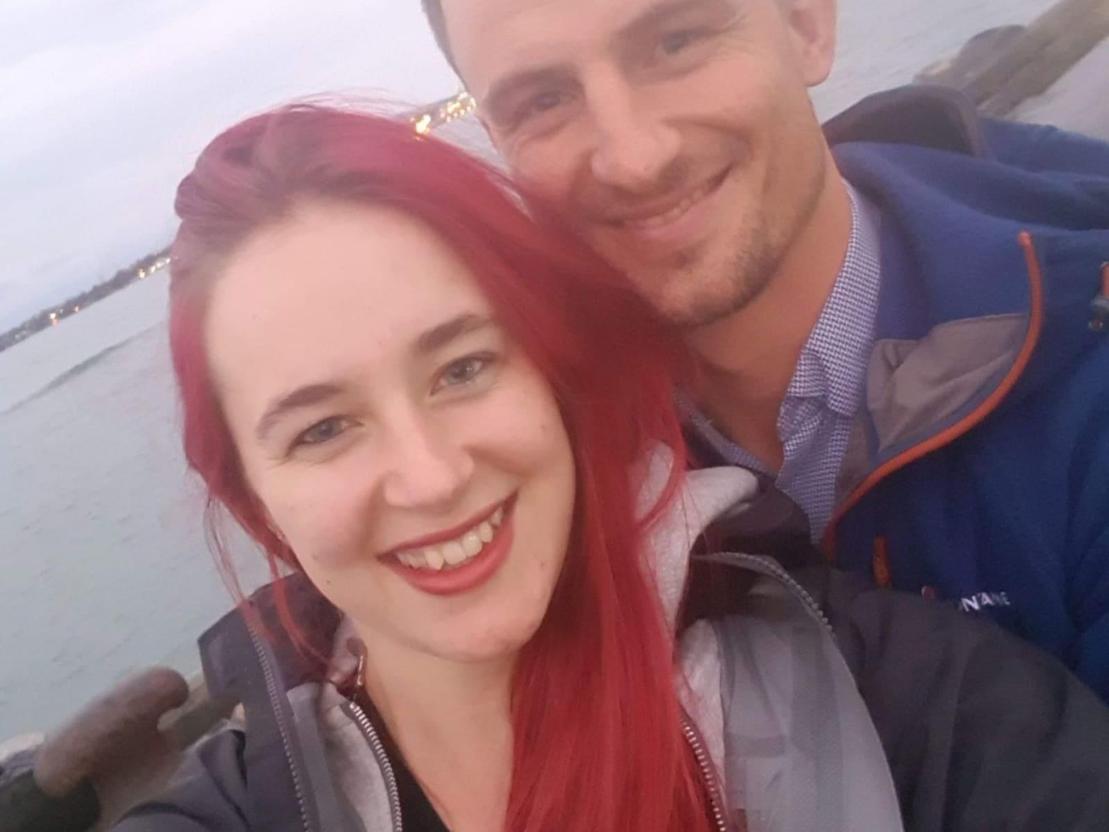 Katrina & Campbell from Auckland, New Zealand