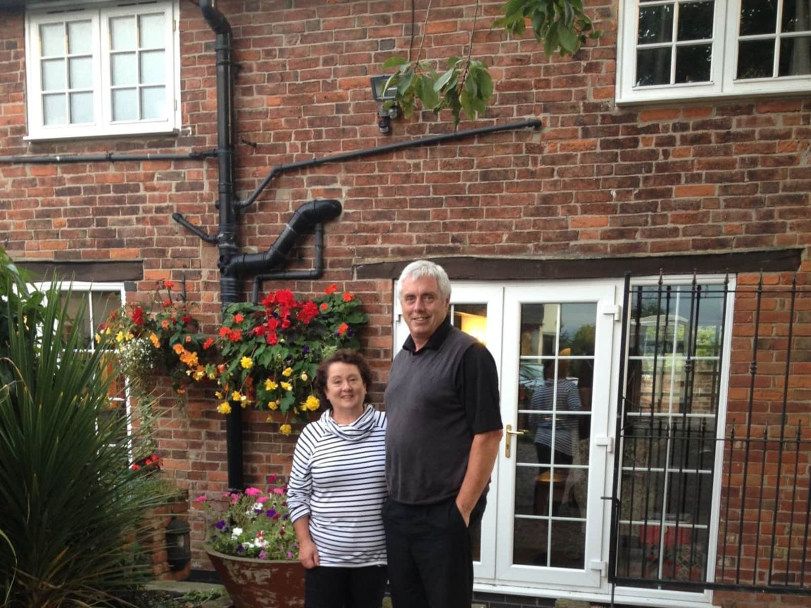 Alison & Michael from Kegworth, United Kingdom