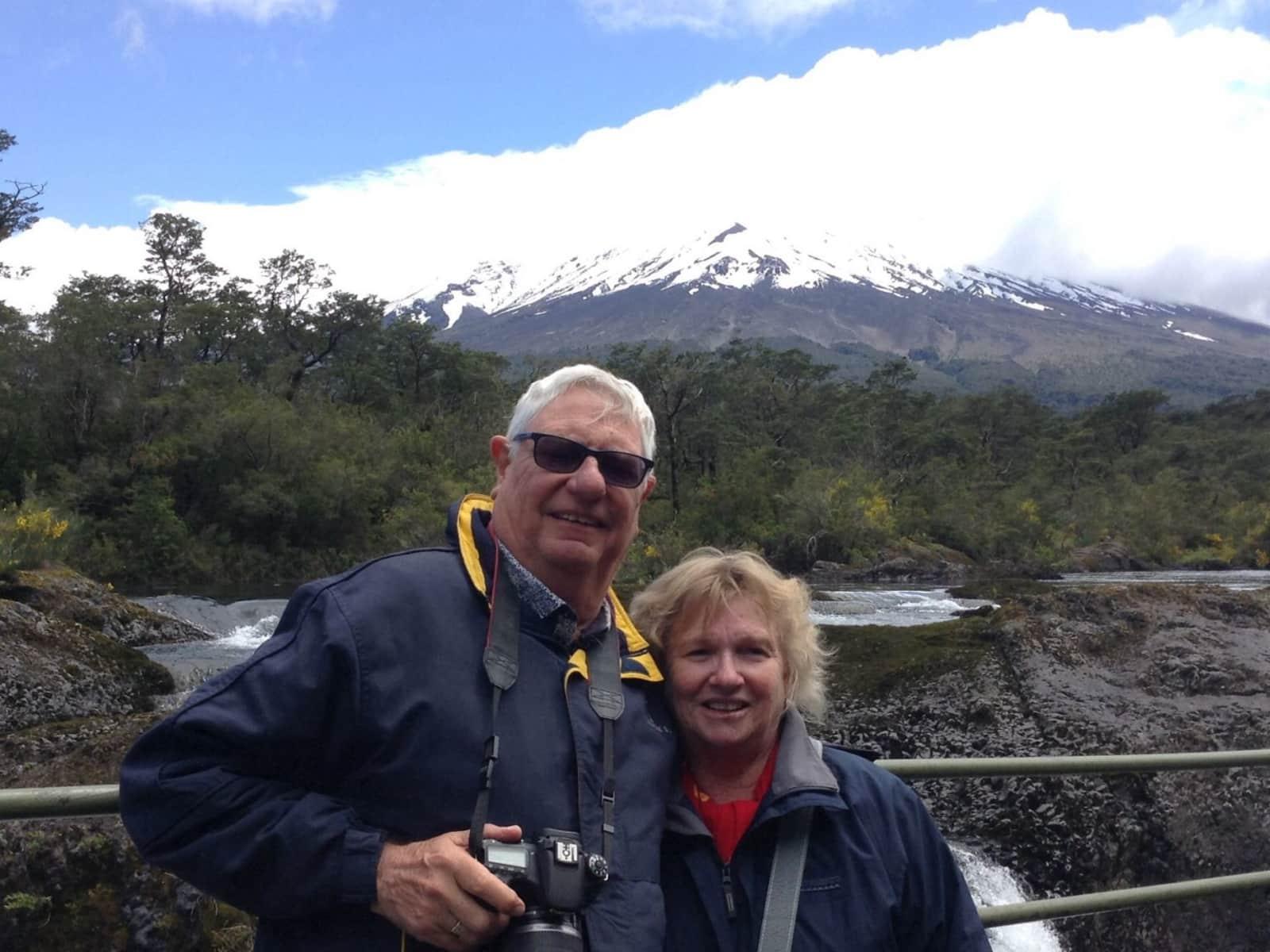 Robyn & Bob from Woody Point, Queensland, Australia