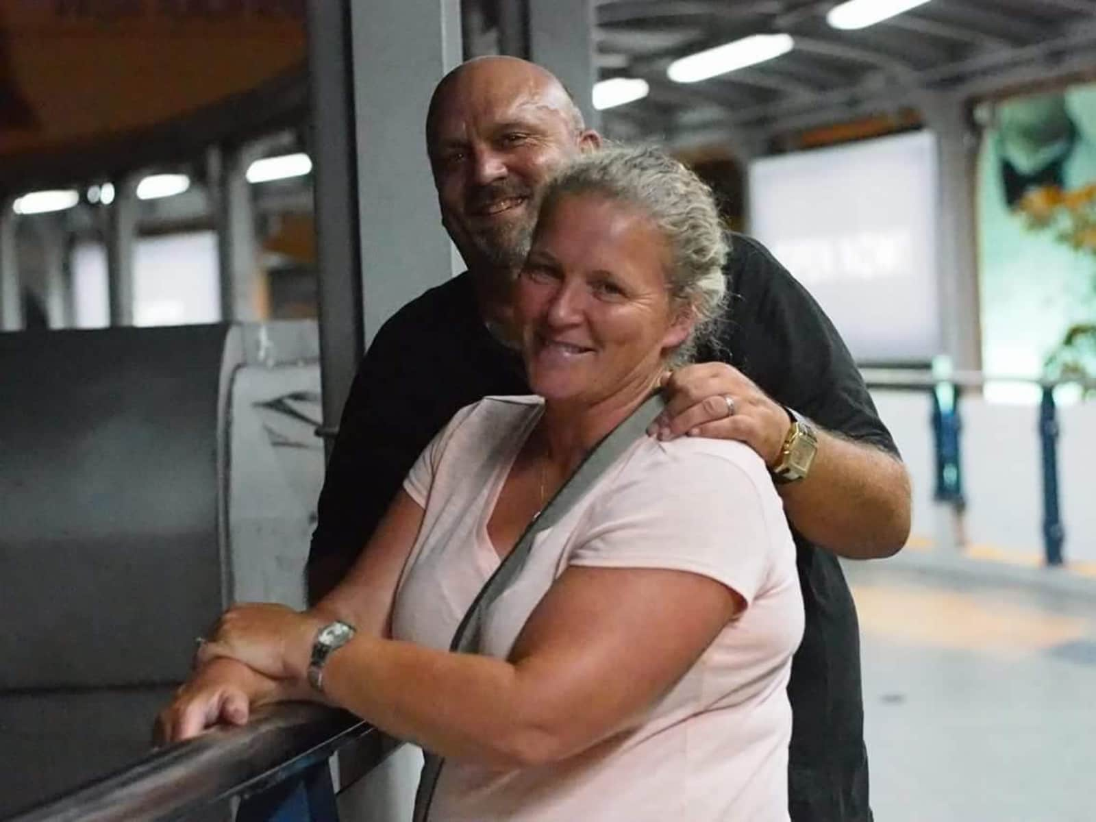 Karin & Bob from Parksville, British Columbia, Canada