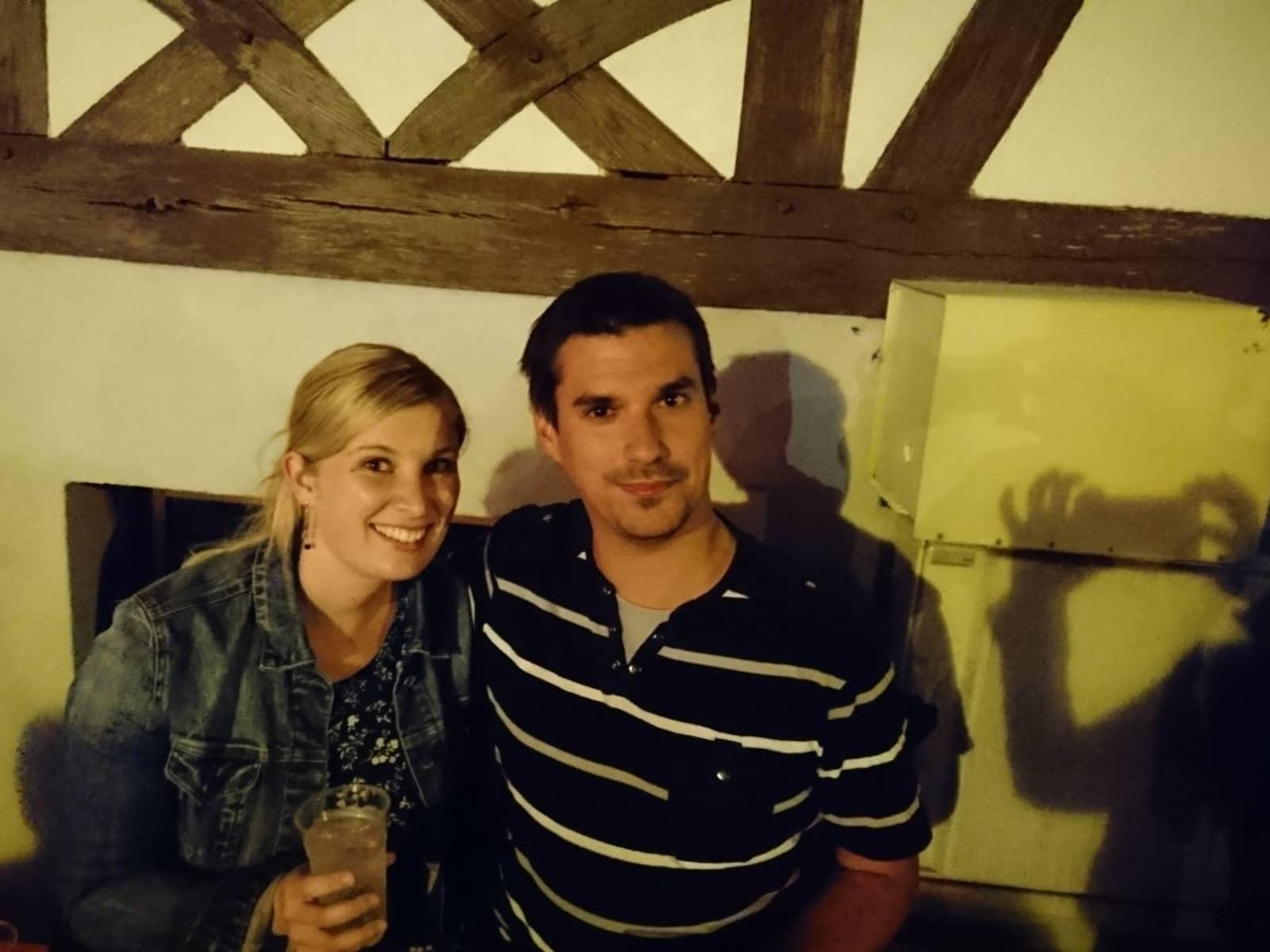 Johanna & Benjamin from Strasbourg, France