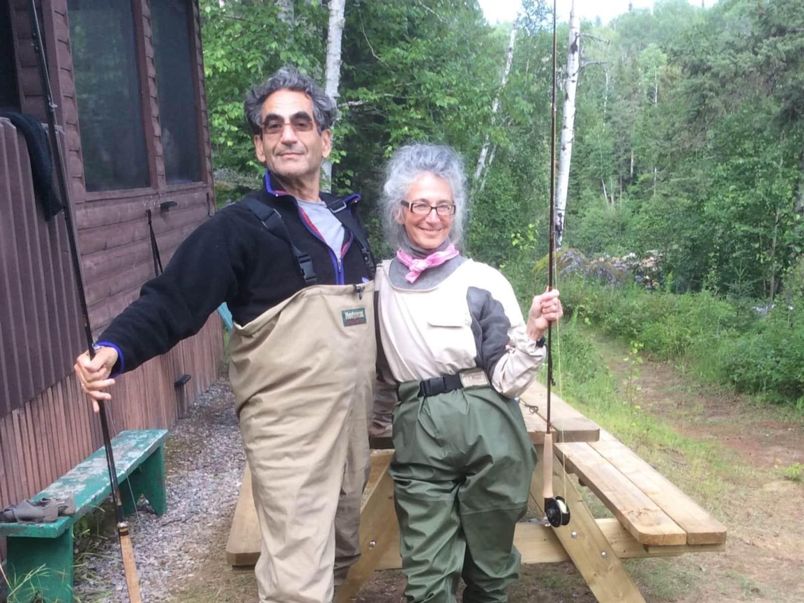 Johanne & Tony from Montréal, Quebec, Canada