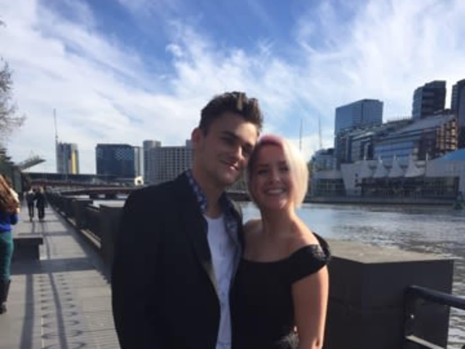 Sean & Selena from Melbourne, Victoria, Australia