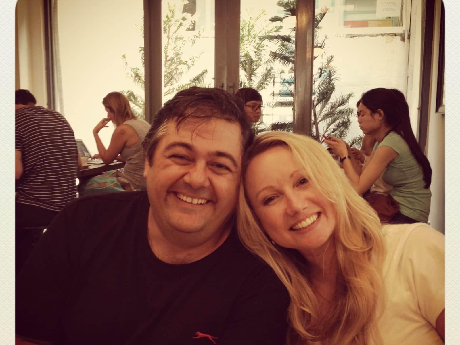 Karletta & John from Brisbane, Queensland, Australia