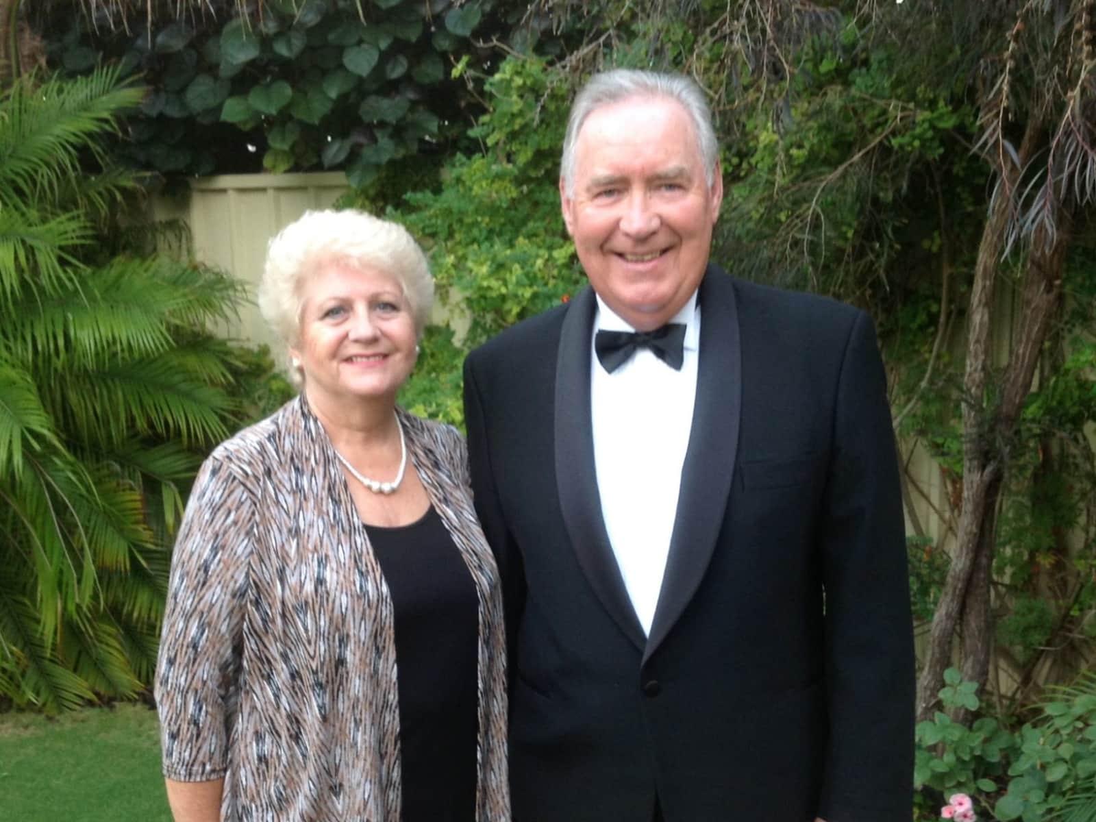 Brenda & Peter from Mandurah, Western Australia, Australia