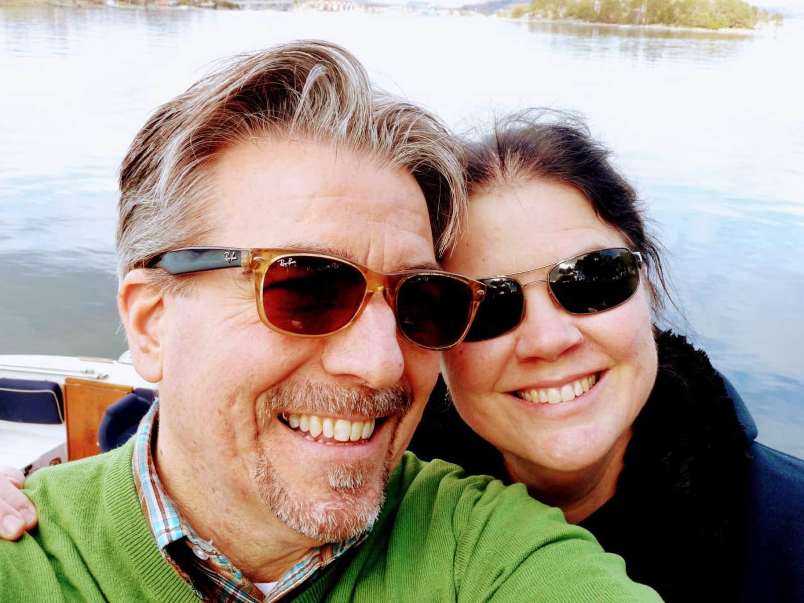 Aaron & Kimberly from Stavanger, Norway