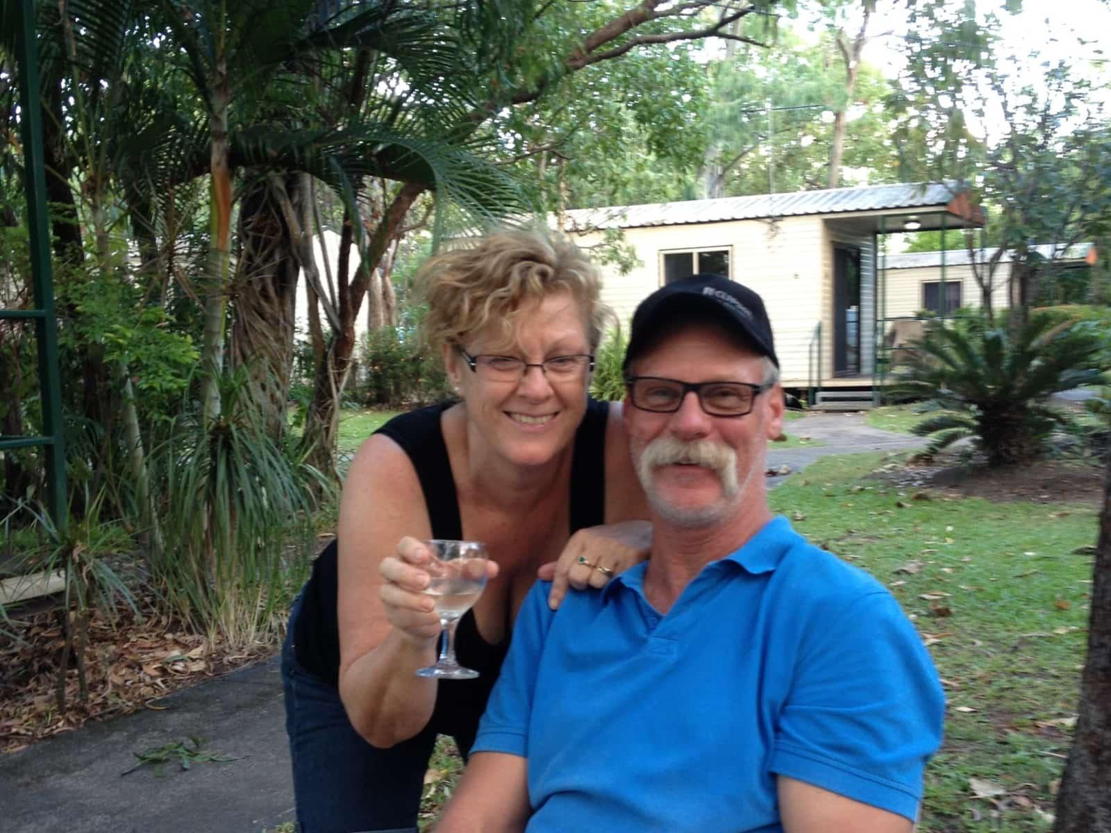 Lynley & Geoff from Henley Beach South, South Australia, Australia