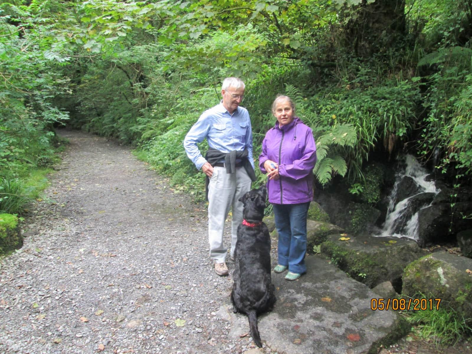 Helen & Derek from Wellington, New Zealand
