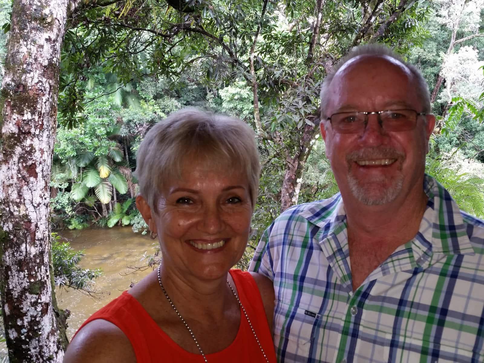 Christine & Malcolm from Brisbane, Queensland, Australia