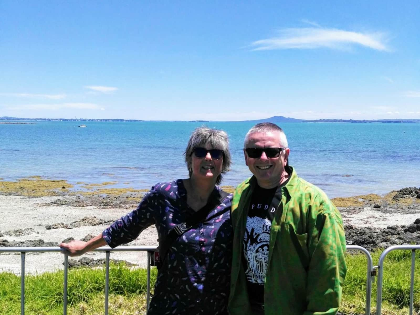 Diana & Frank from Christchurch, New Zealand