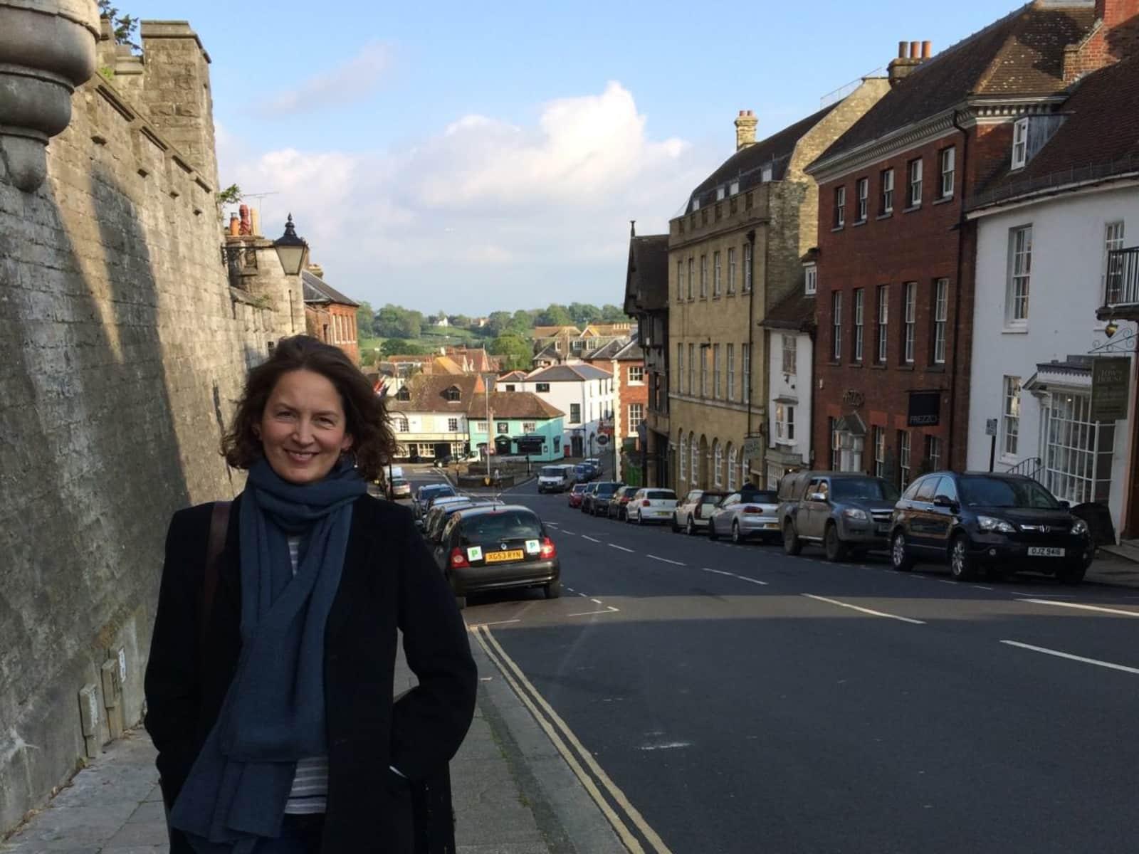 Gail from Cheltenham, United Kingdom