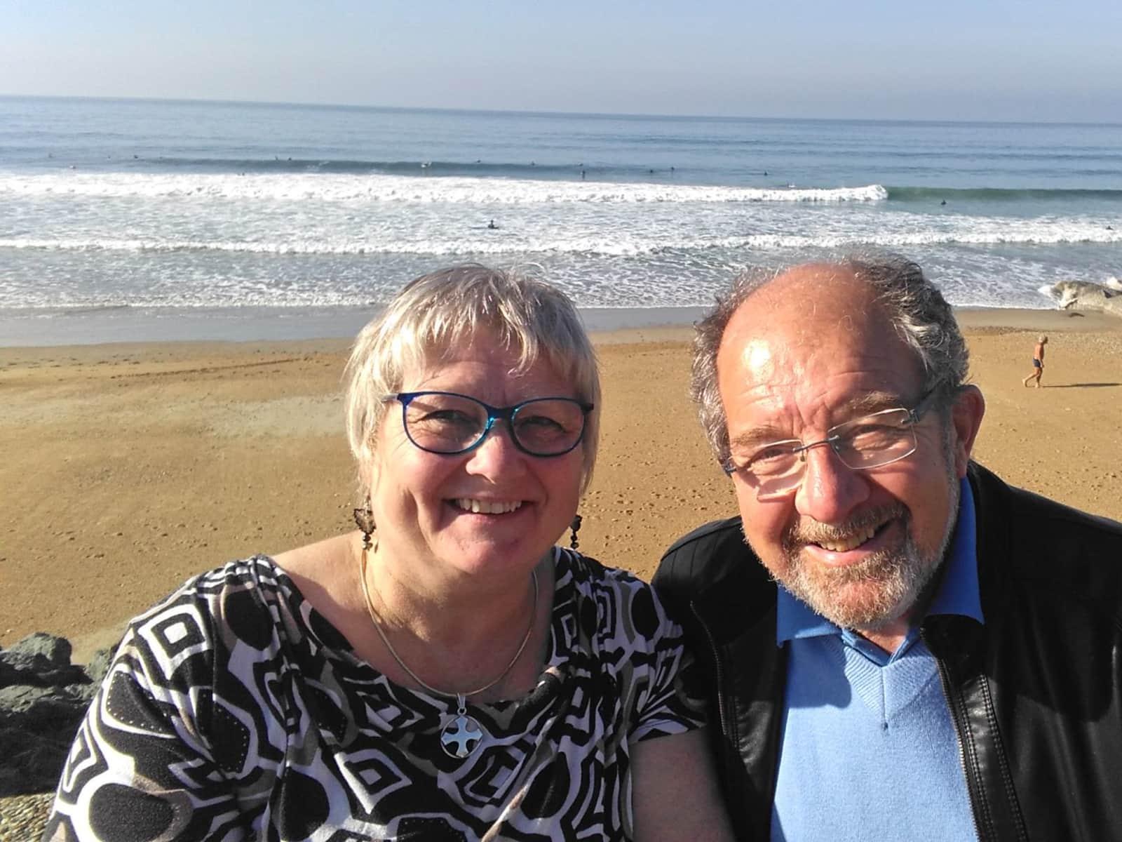 Christine & Paul from Salies-de-Béarn, France