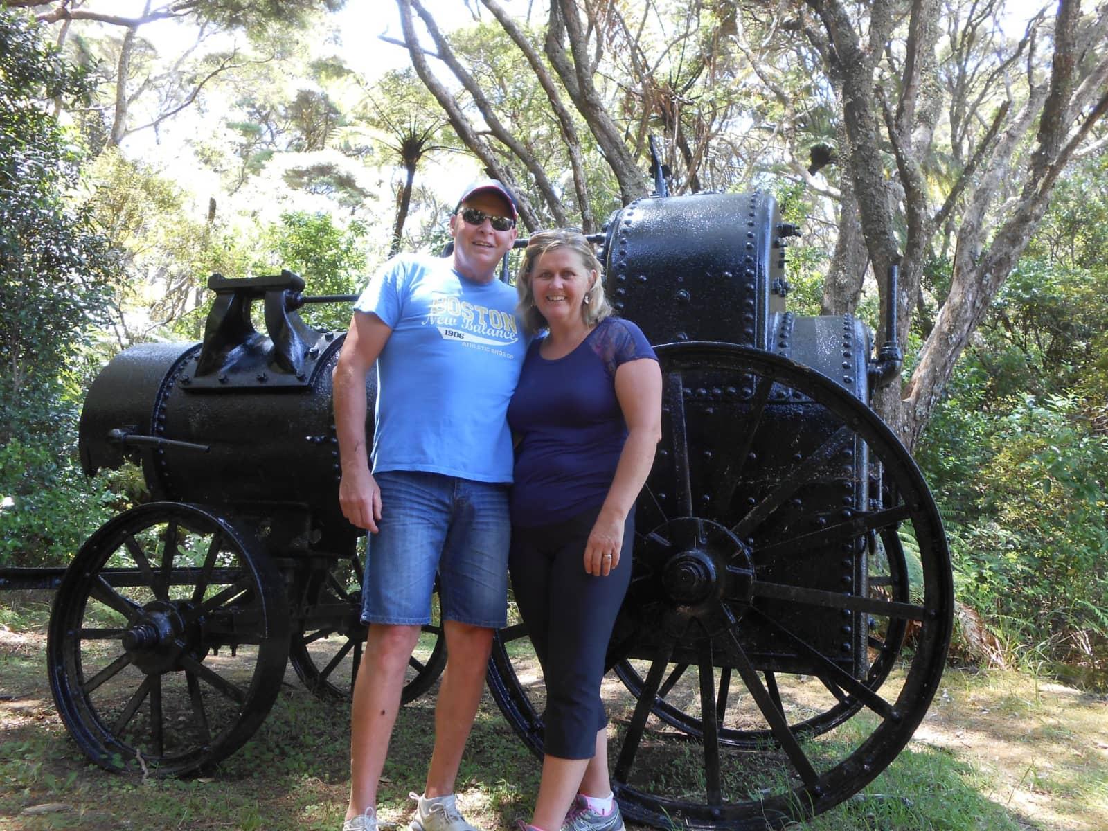 Kim & Stu from Cambridge, New Zealand