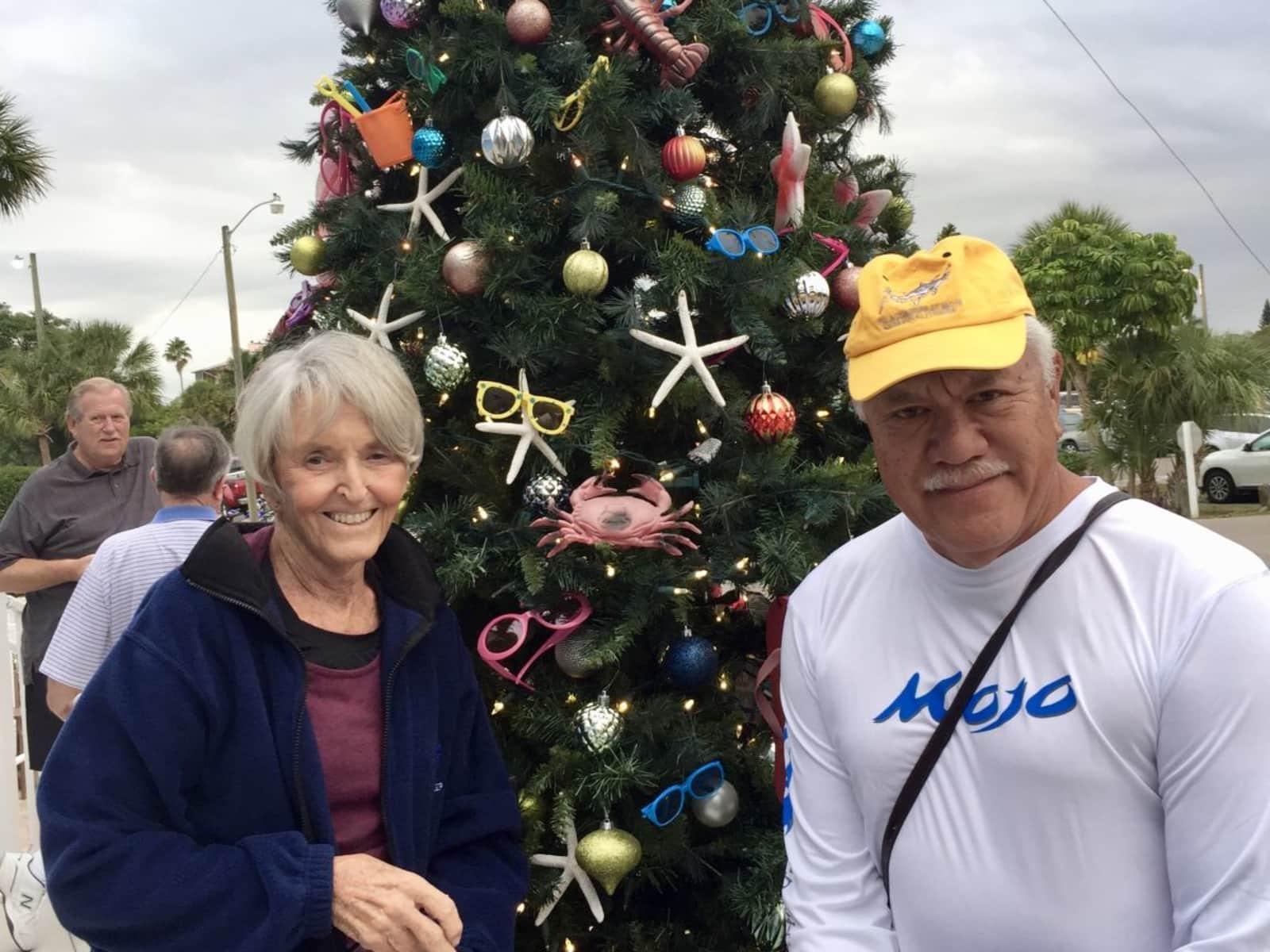 Sandy & Gordon from Sarasota, Florida, United States