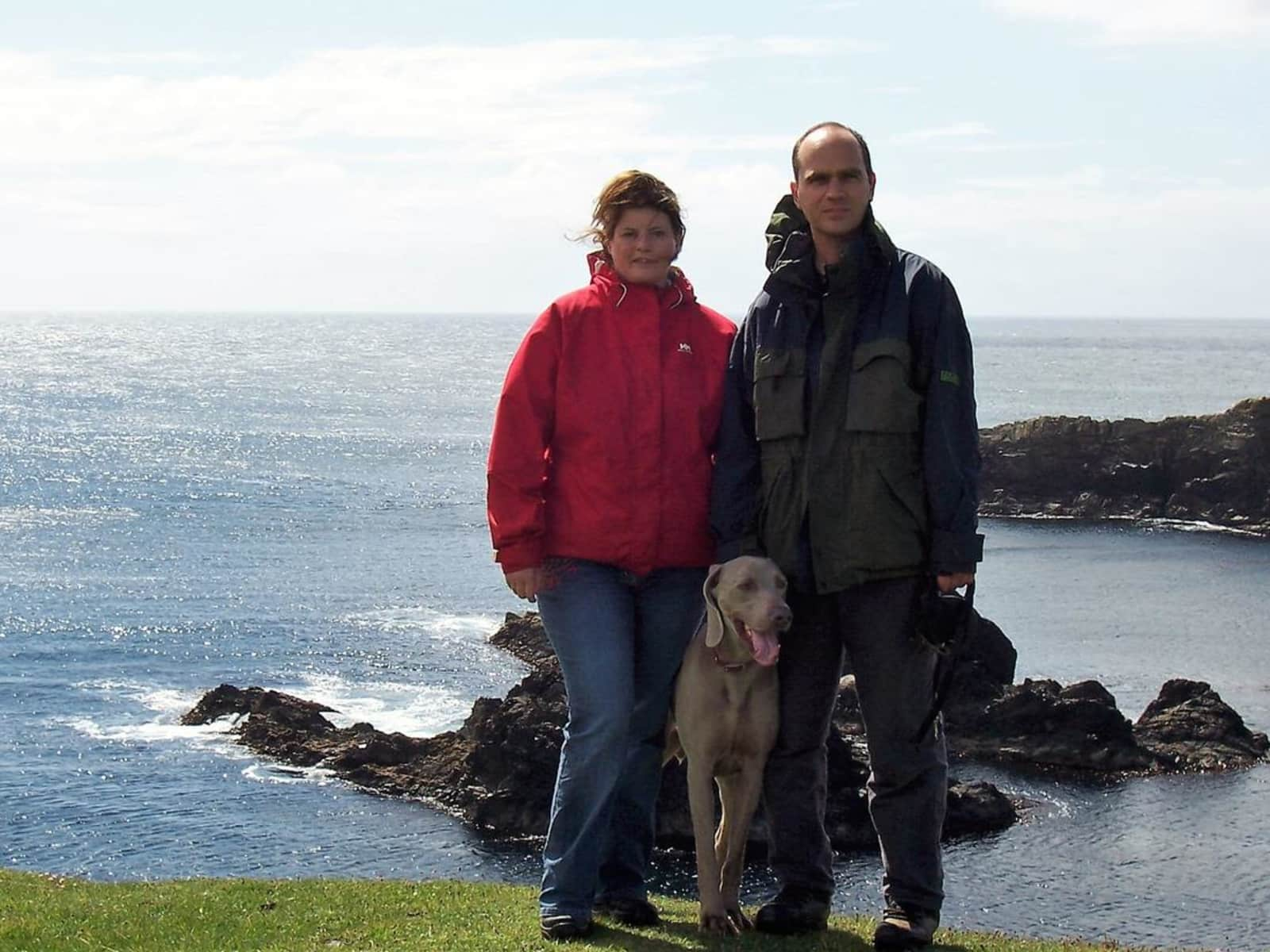 Hannah & Andrew from Shetland, United Kingdom