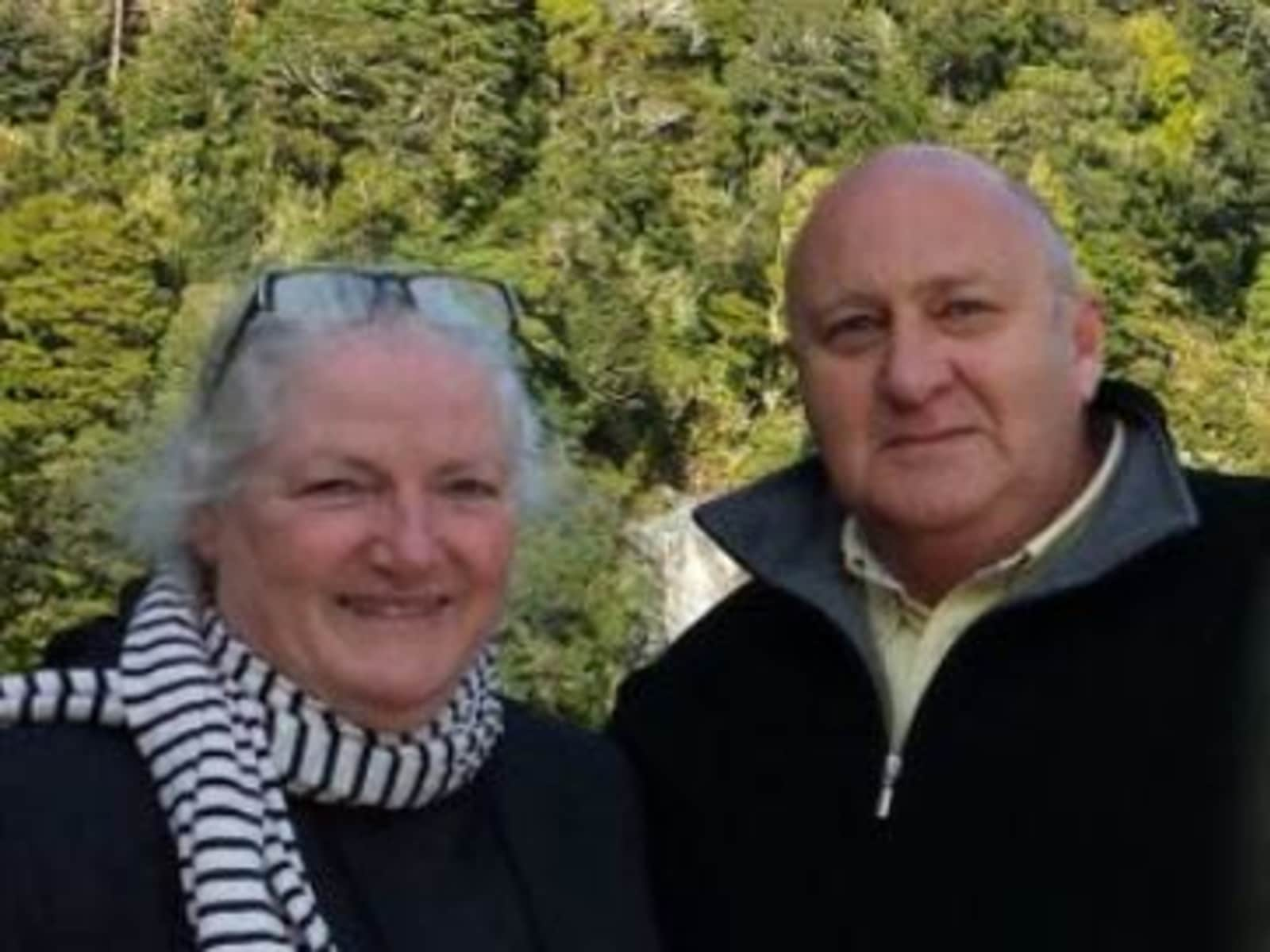 Ruth & Peter from Auckland, New Zealand