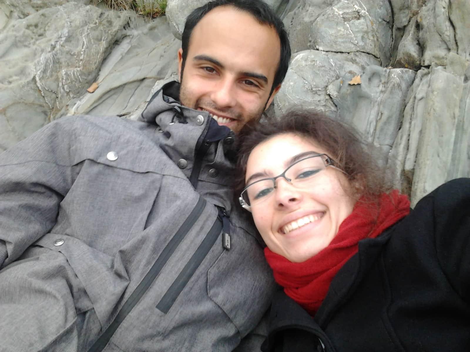 Zephyra & Benoît from La Feuillée, France
