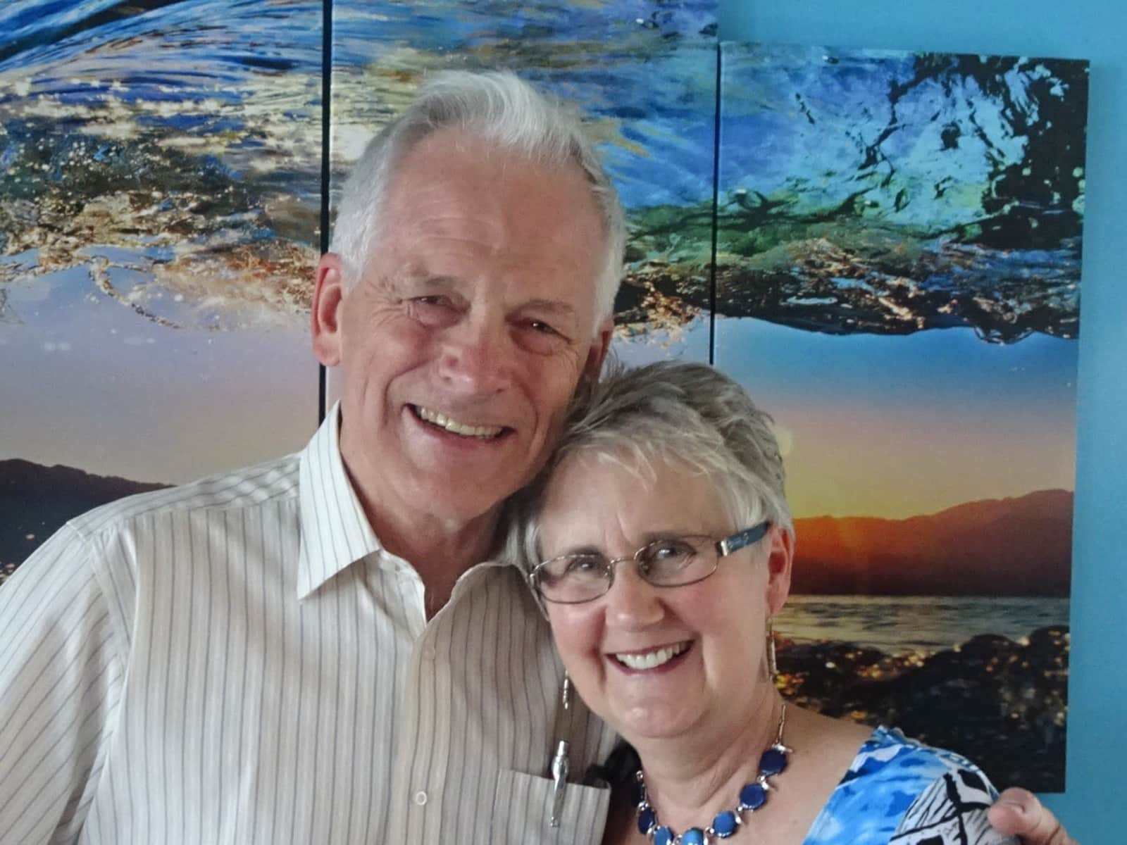 Peter & Dianne from Pender Island, British Columbia, Canada