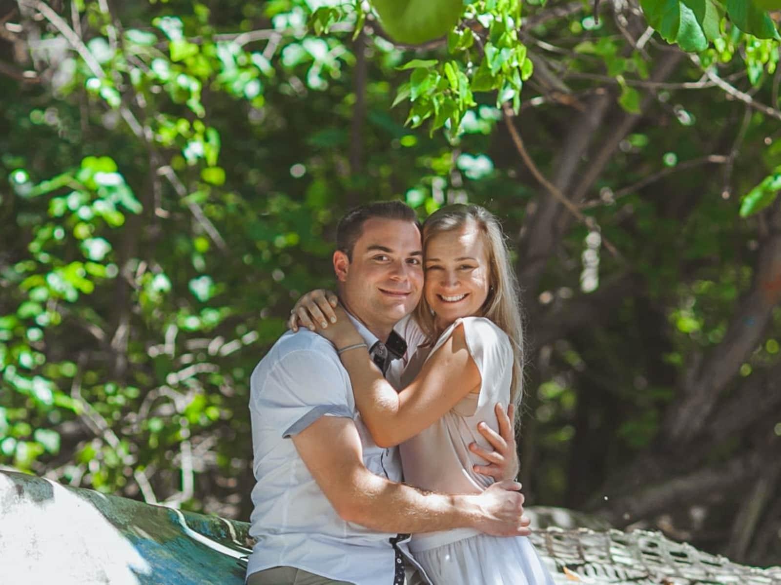 Elena & Dennis from Austin, Texas, United States