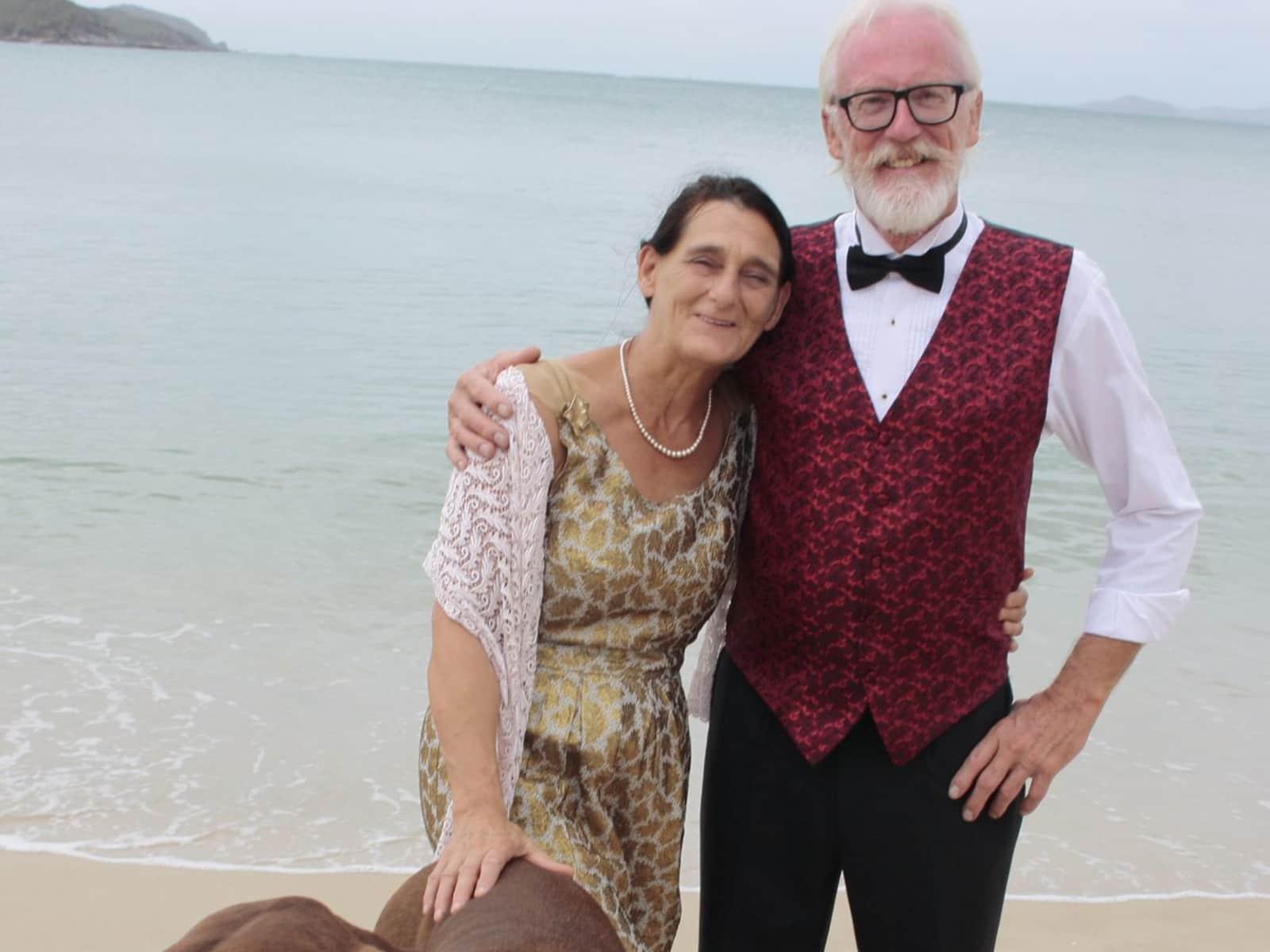 Elaine & Peter from Yaxley, United Kingdom