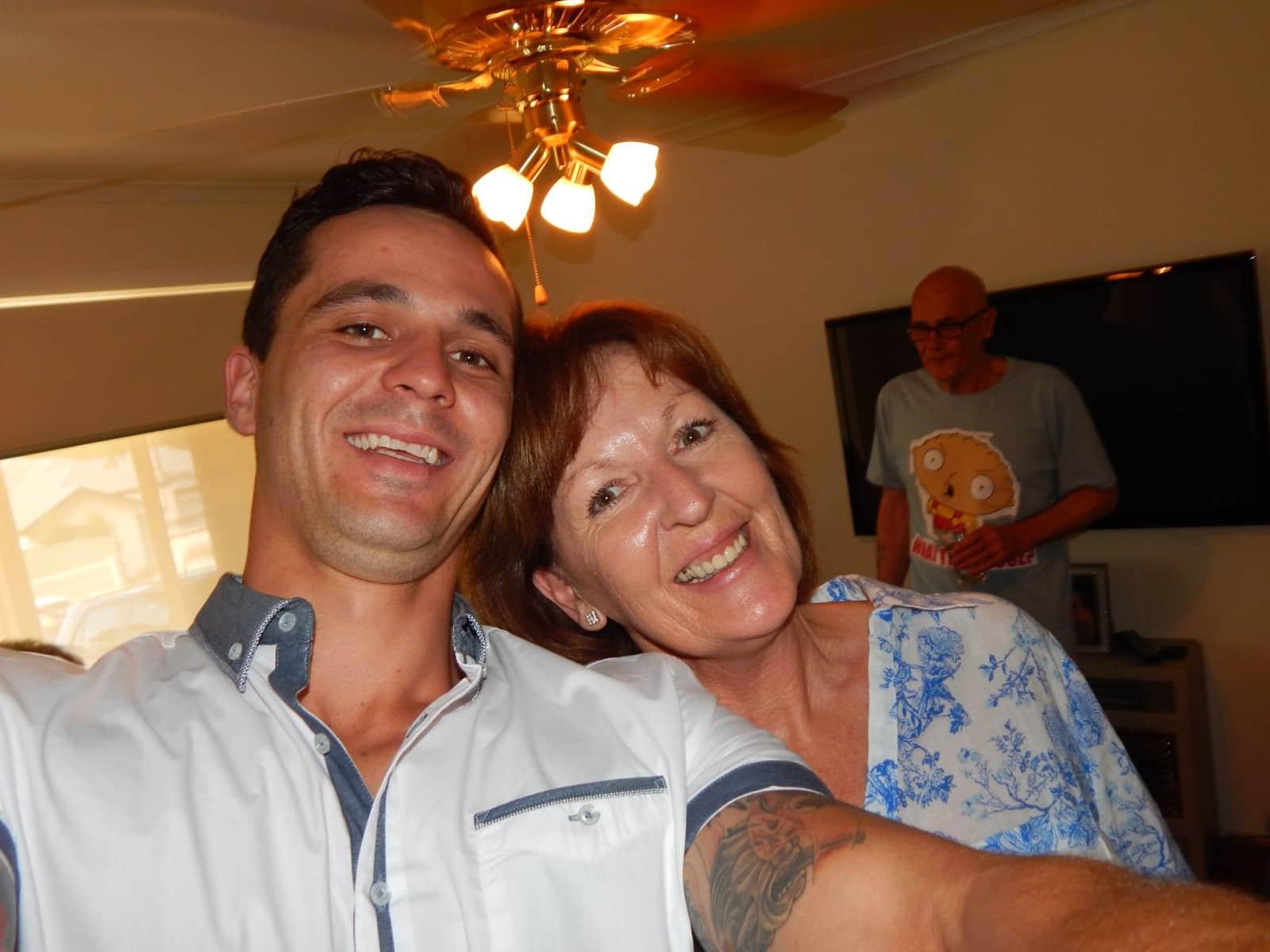 Susan from Adelaide, South Australia, Australia