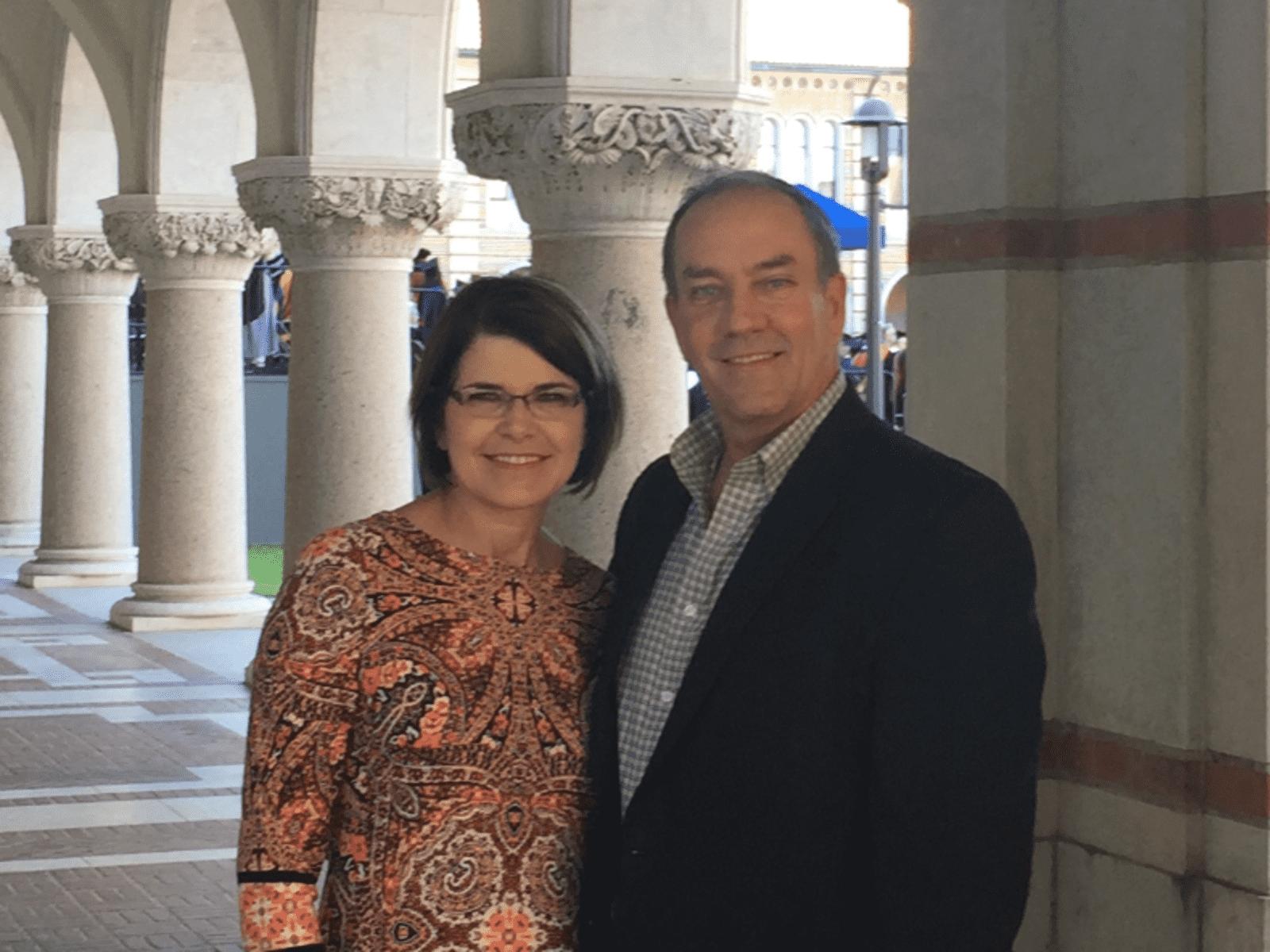 Tom & Lisa from Denton, Texas, United States