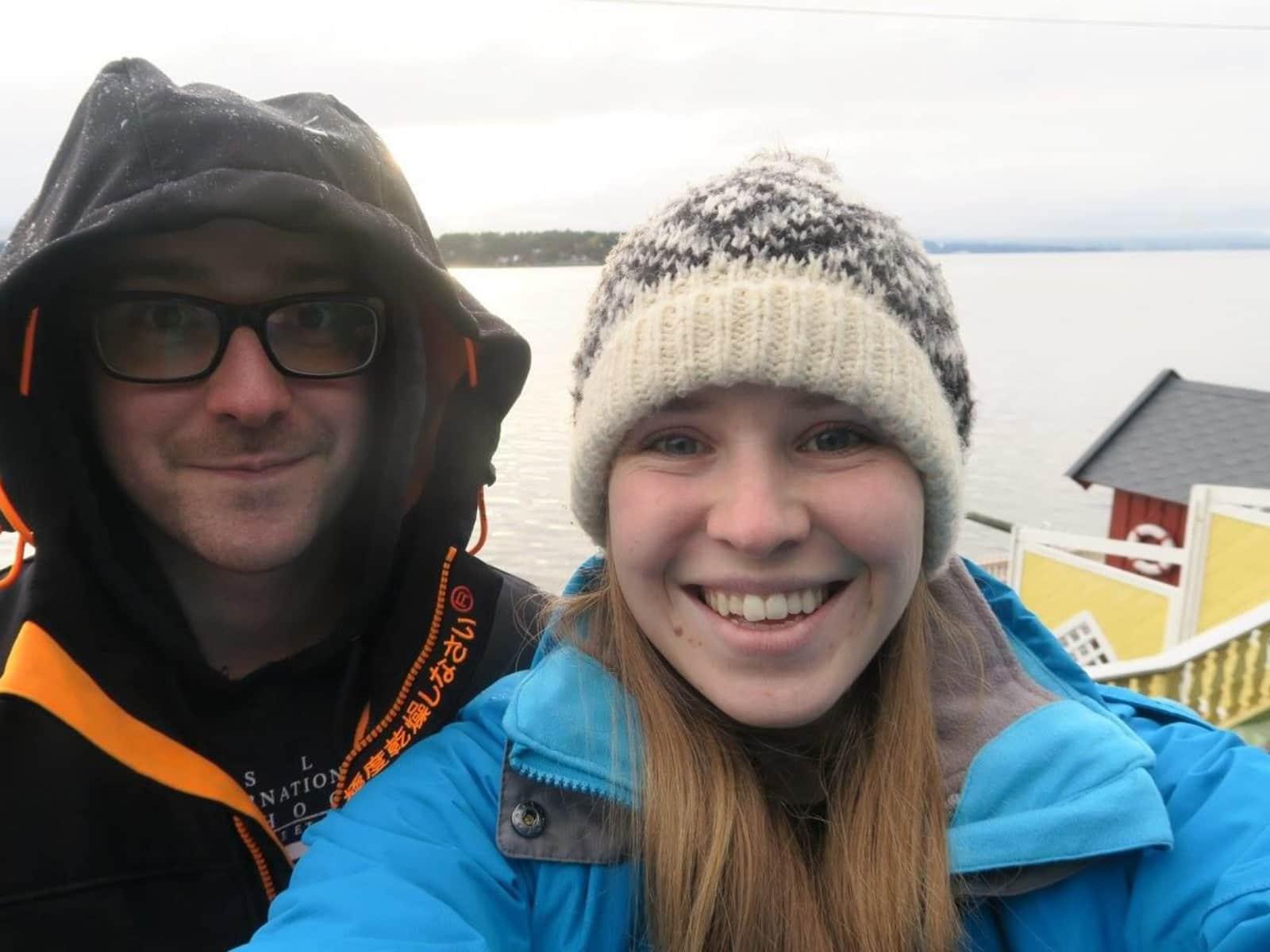 Hannah & Yann from Swanage, United Kingdom