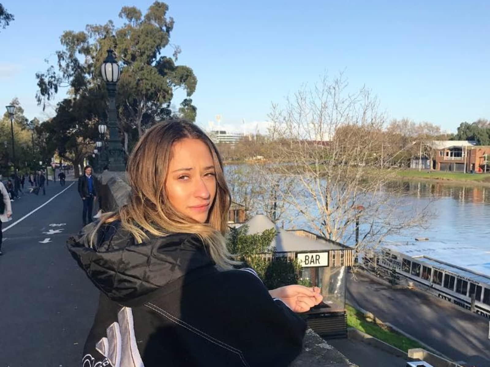 Tammie from Melbourne, Victoria, Australia