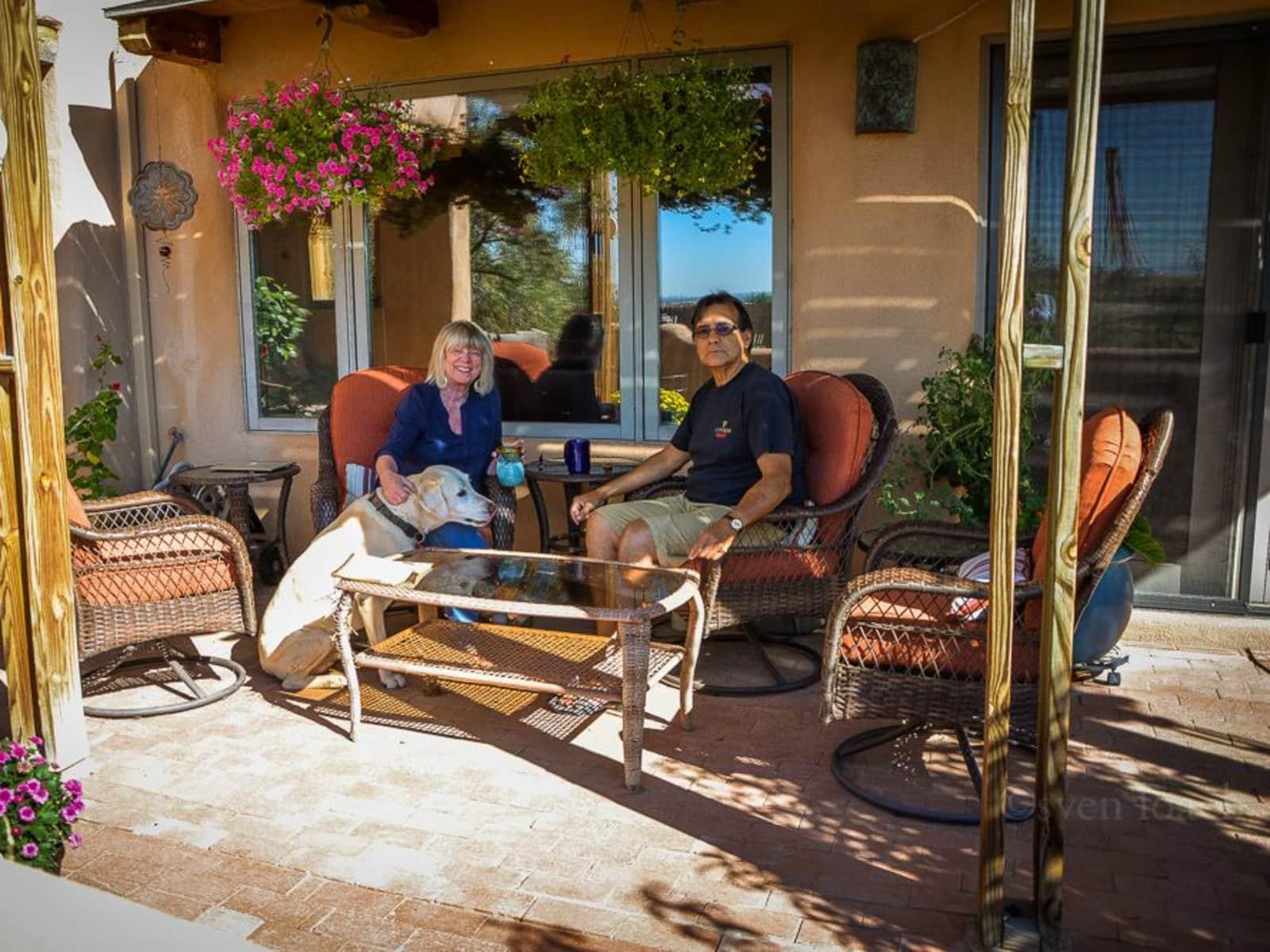 Martie & Blas from Rio Rancho, New Mexico, United States
