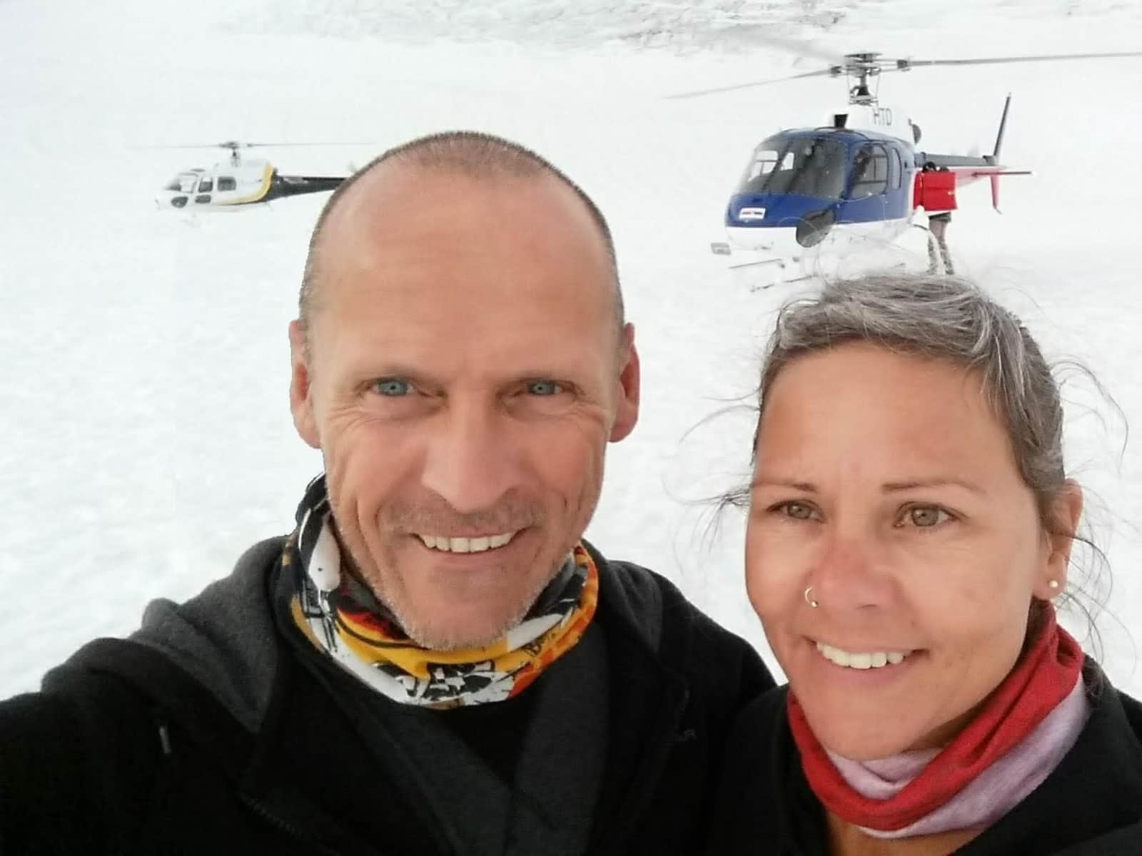 Michael & Heidi from Ickleford, United Kingdom