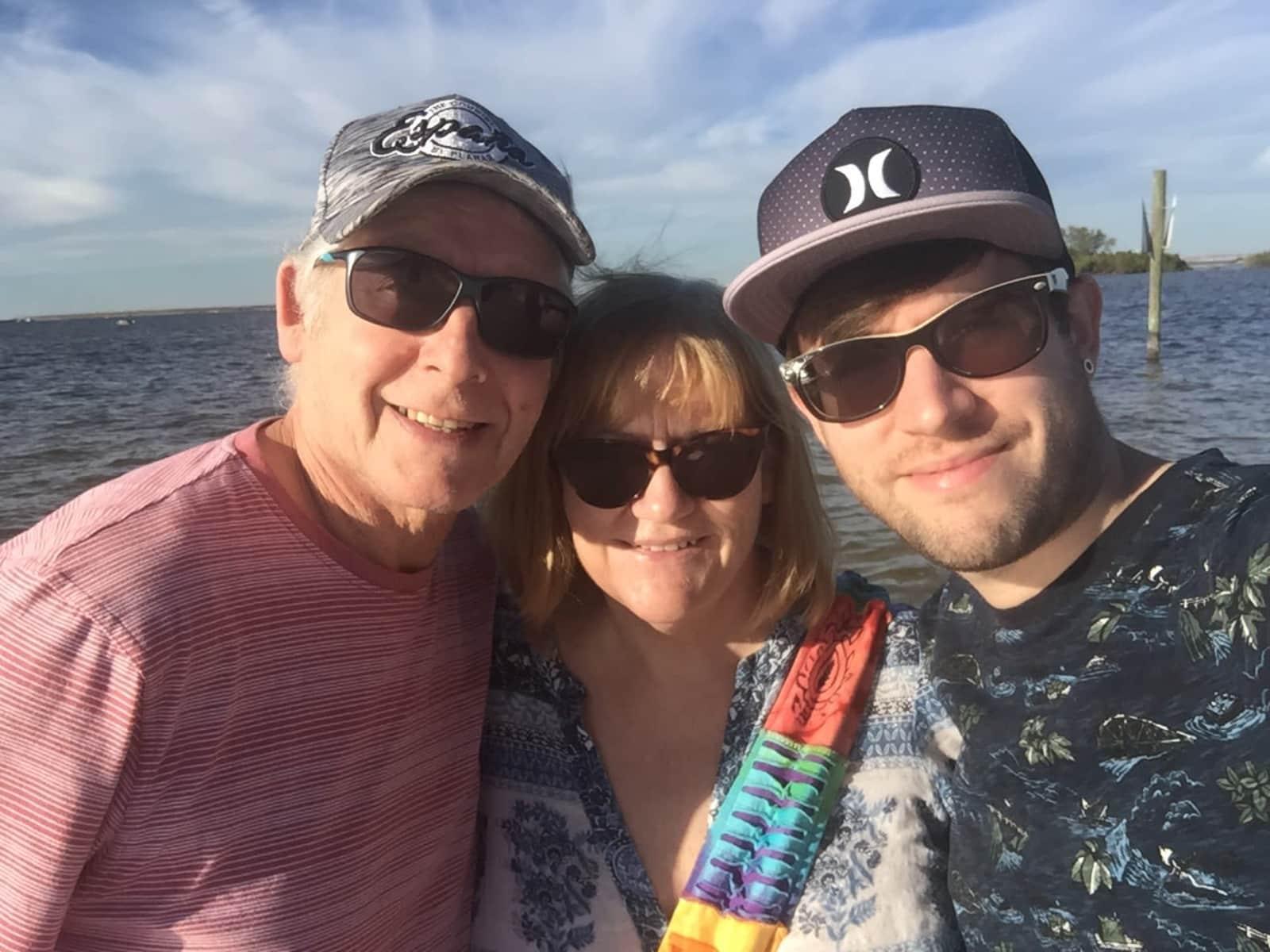 Sue & Brian & dan from Sandbach, United Kingdom