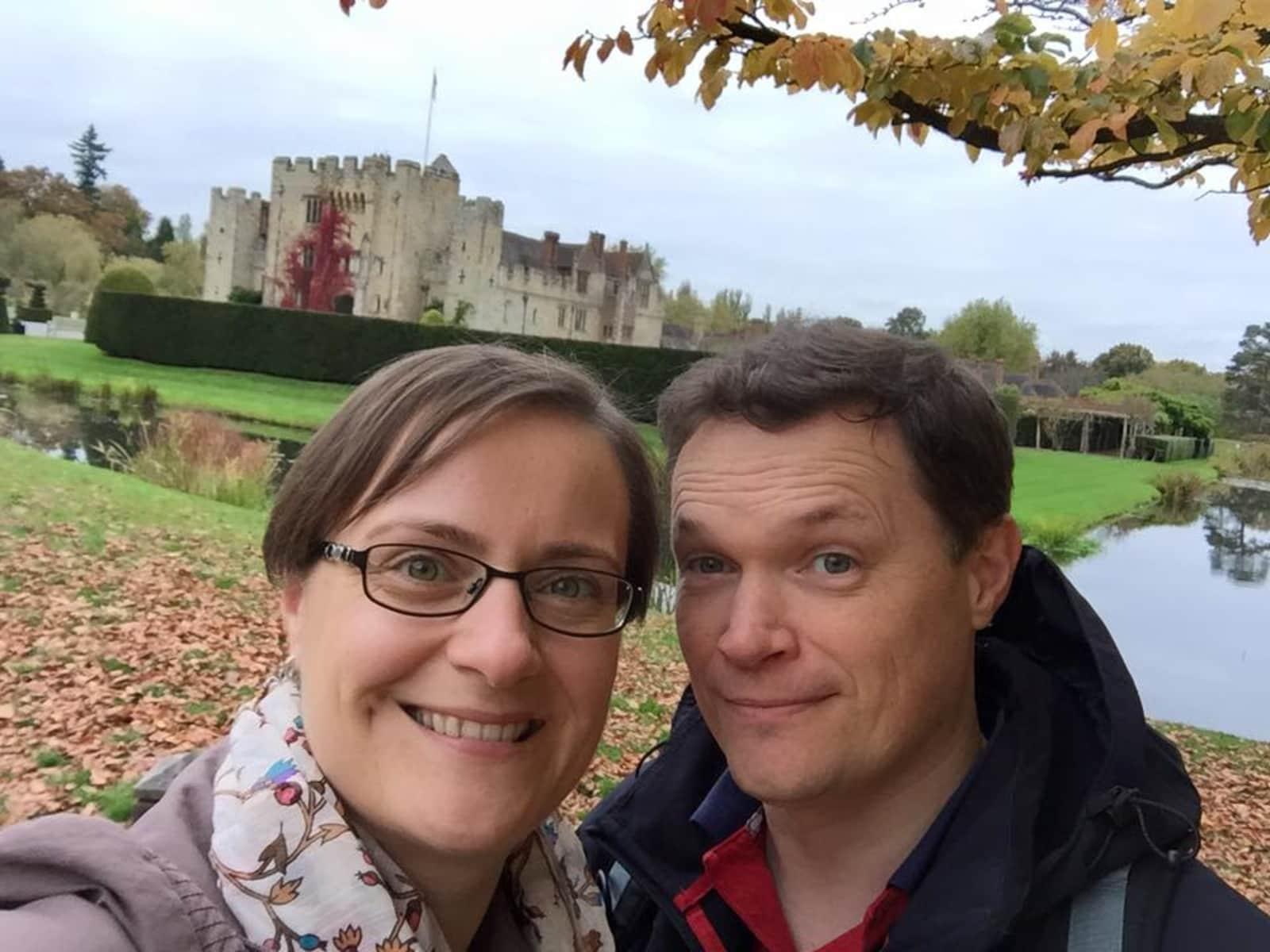 Stuart & Nadja from Maidstone, United Kingdom