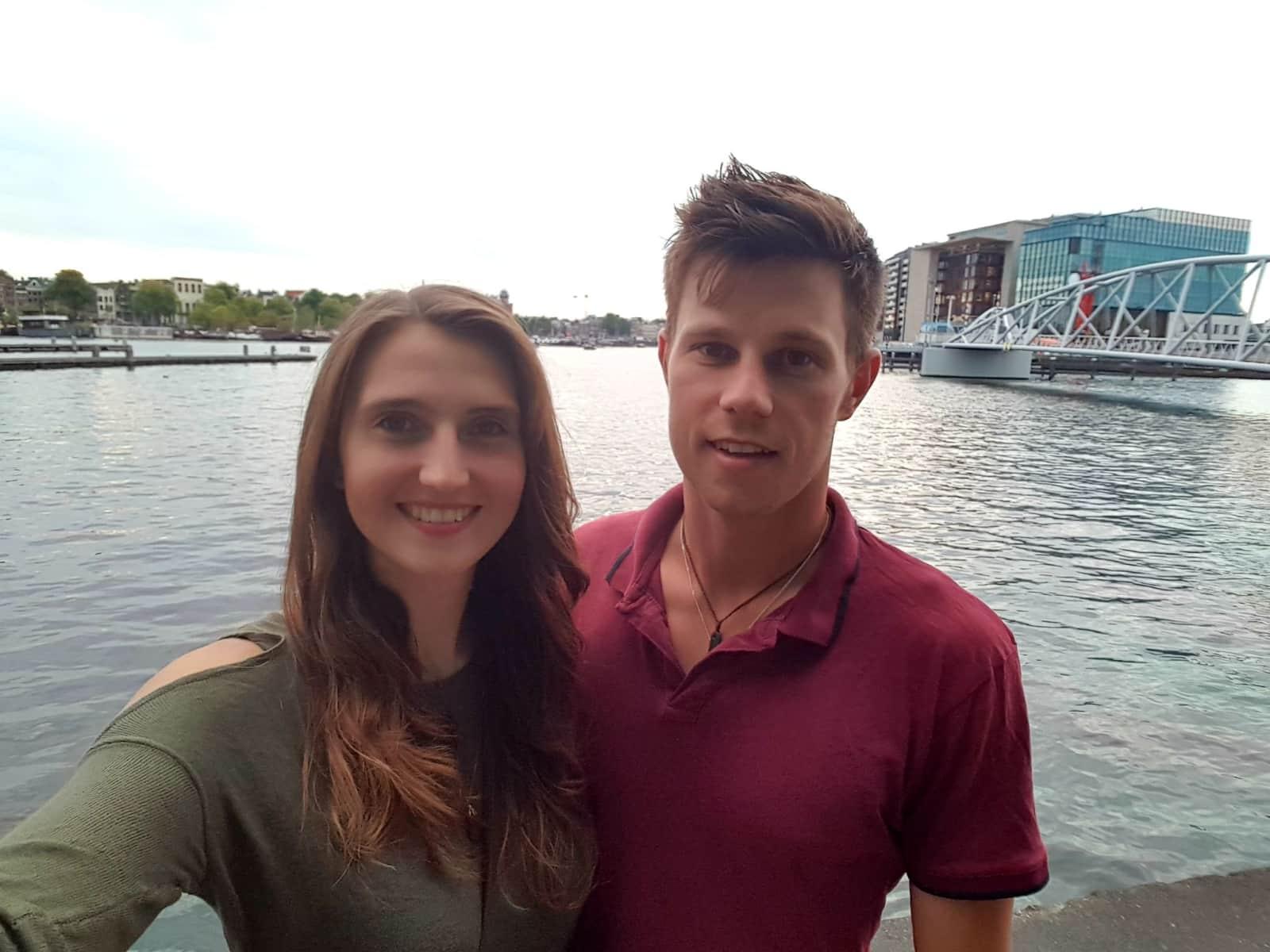 Alex & Jovana from Auckland, New Zealand