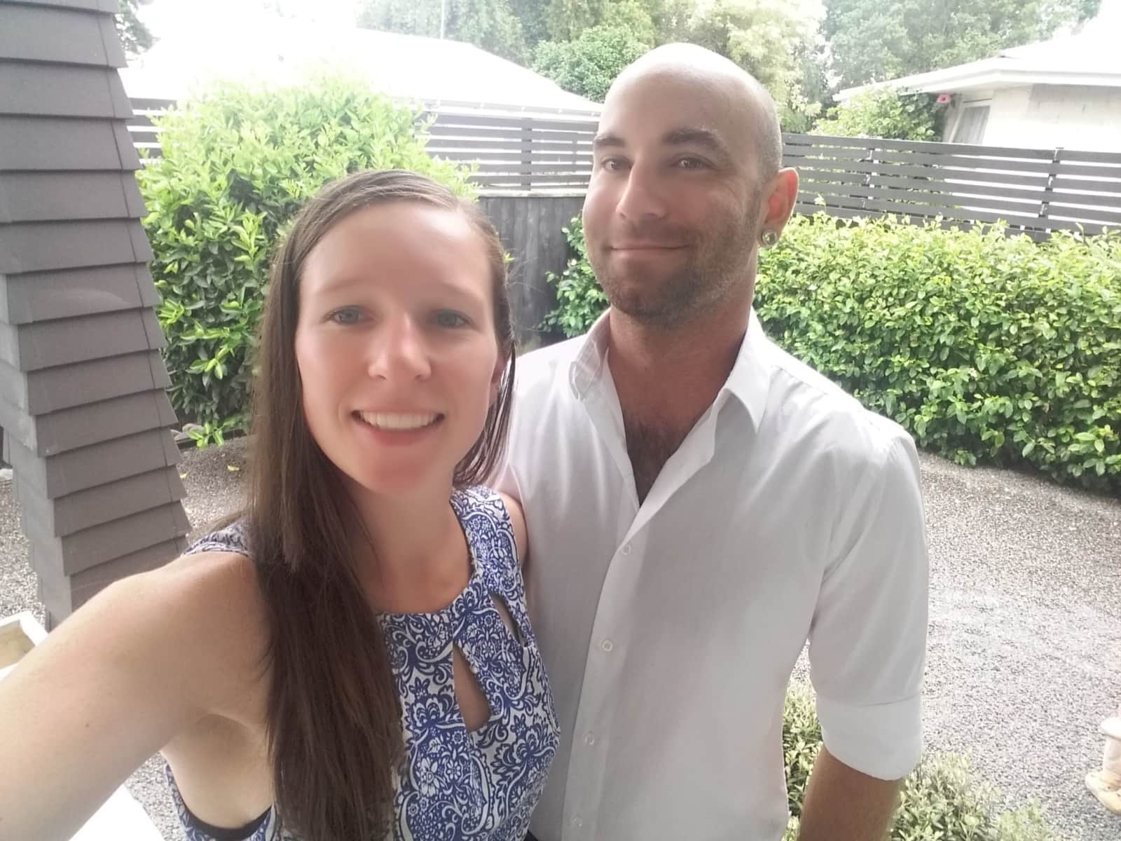 Trish & Kael from Masterton, New Zealand