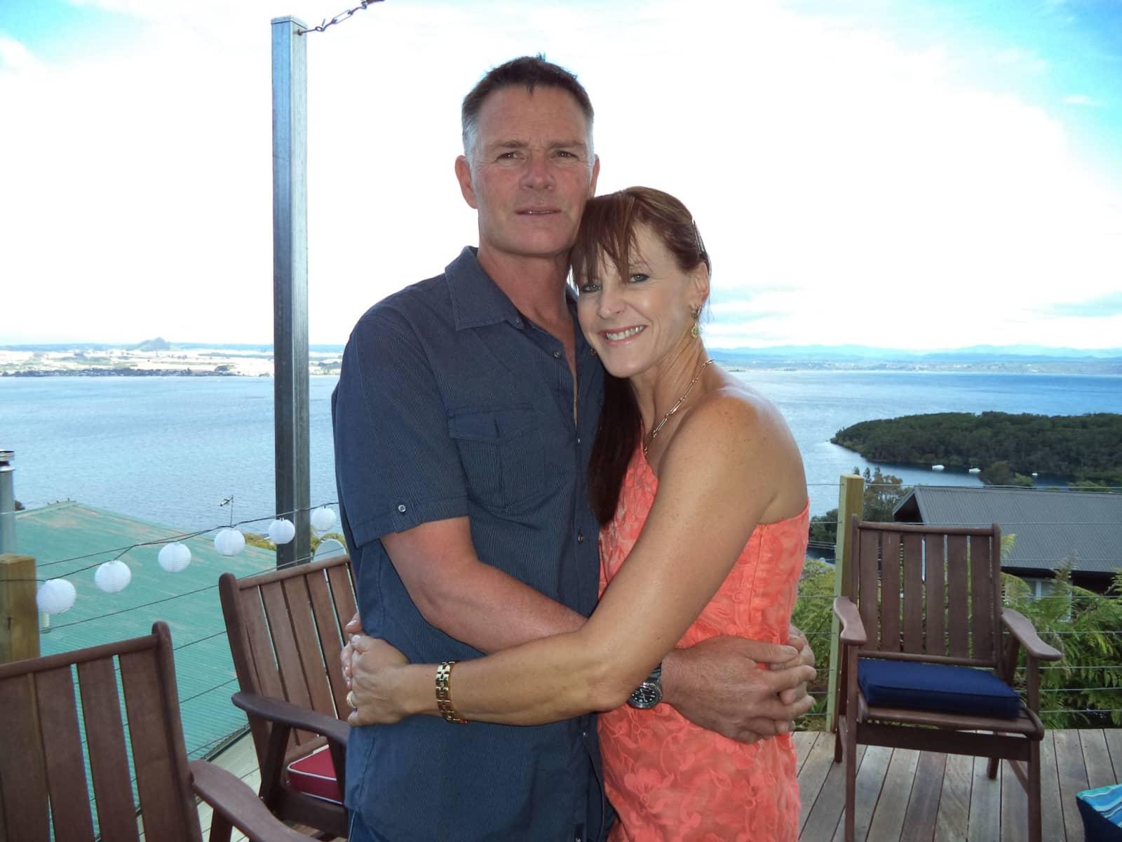 Lisa & Brett from Taupo, New Zealand