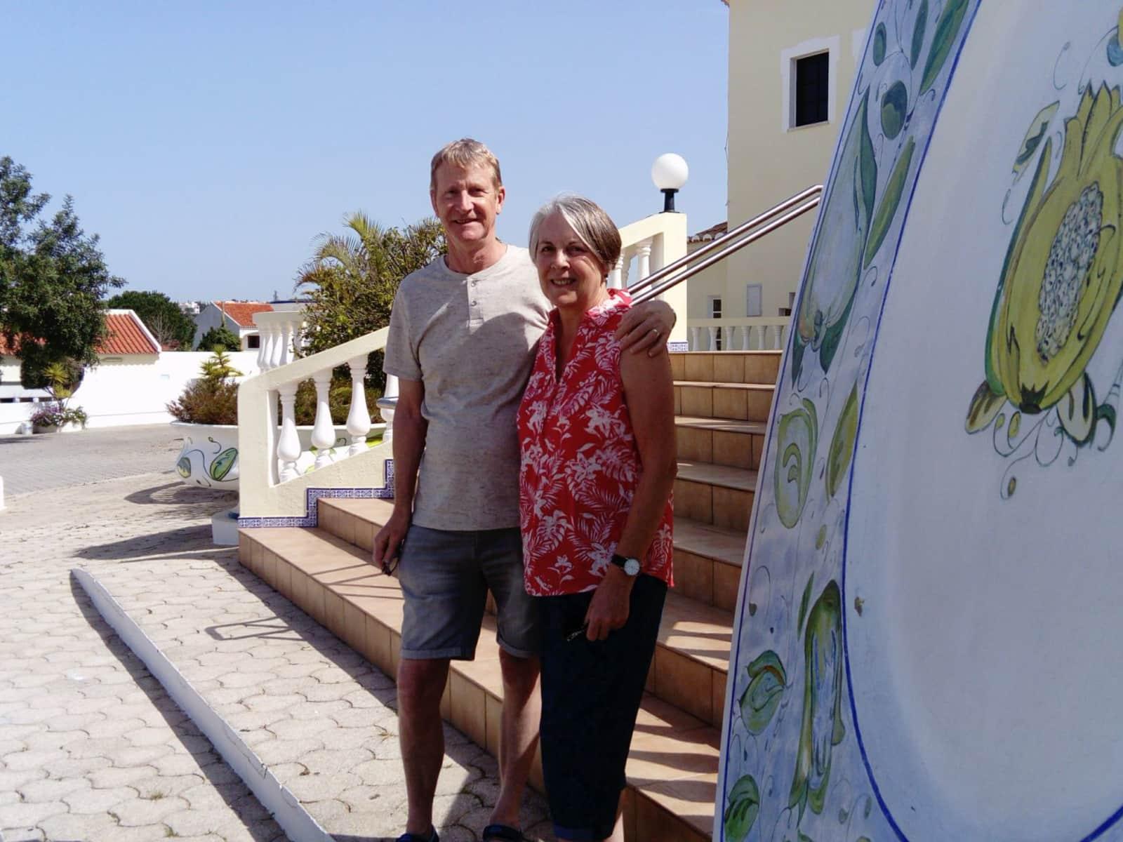 John & Trisha from Shaftesbury, United Kingdom
