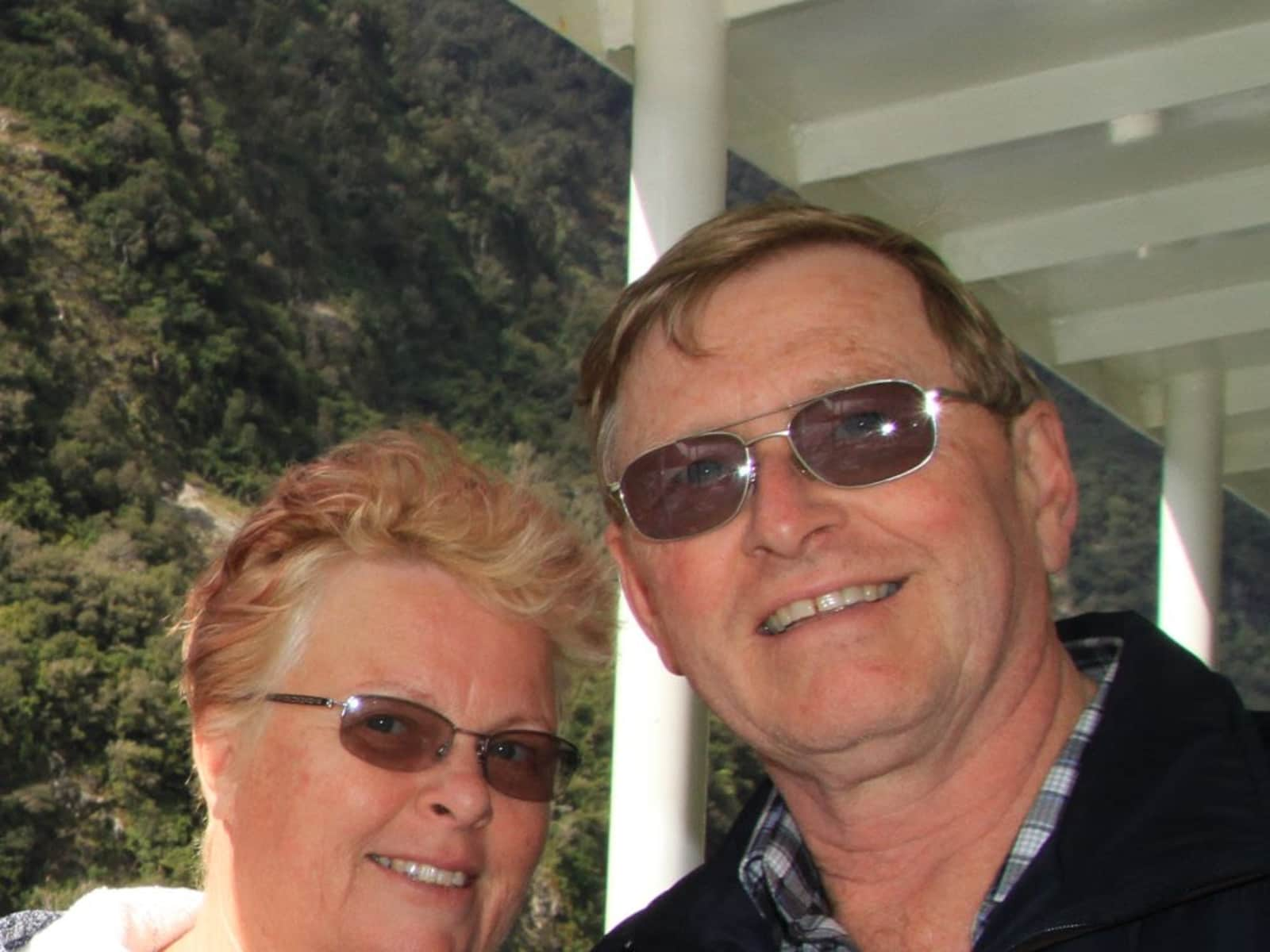 Lindsey & Barry from Nelson, New Zealand