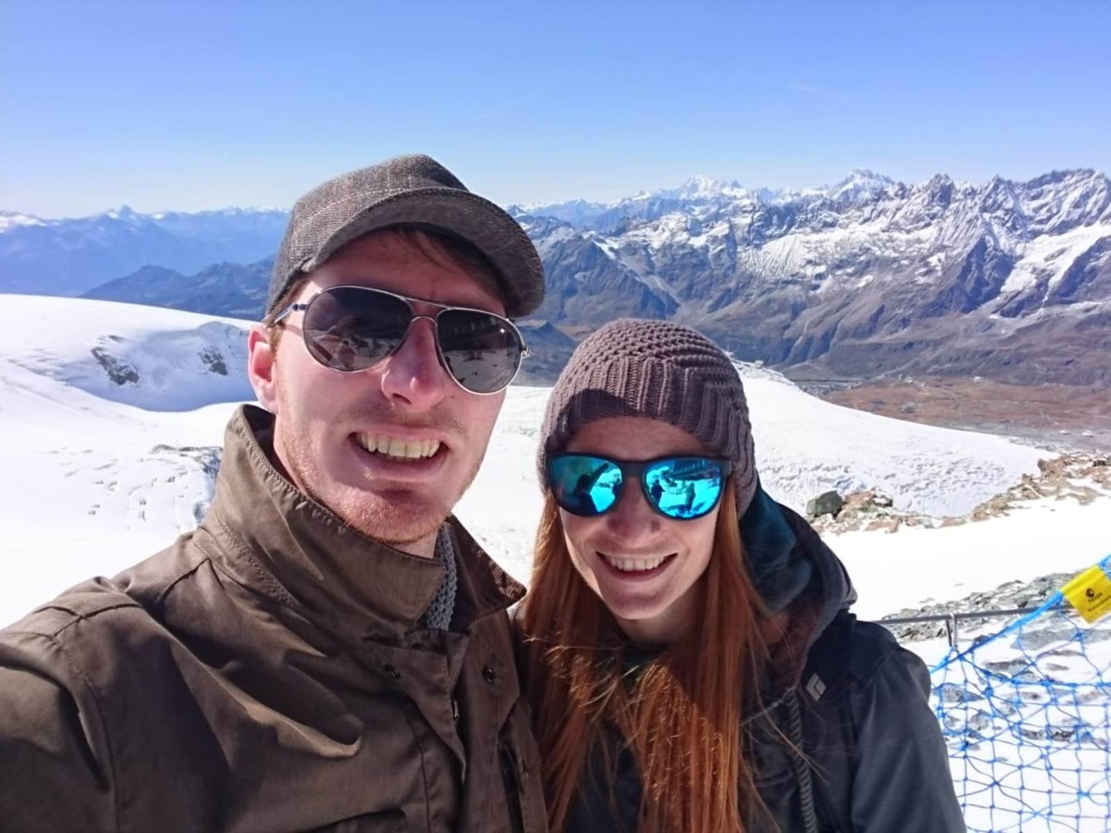 Laura & Kirk from Sitten, Switzerland