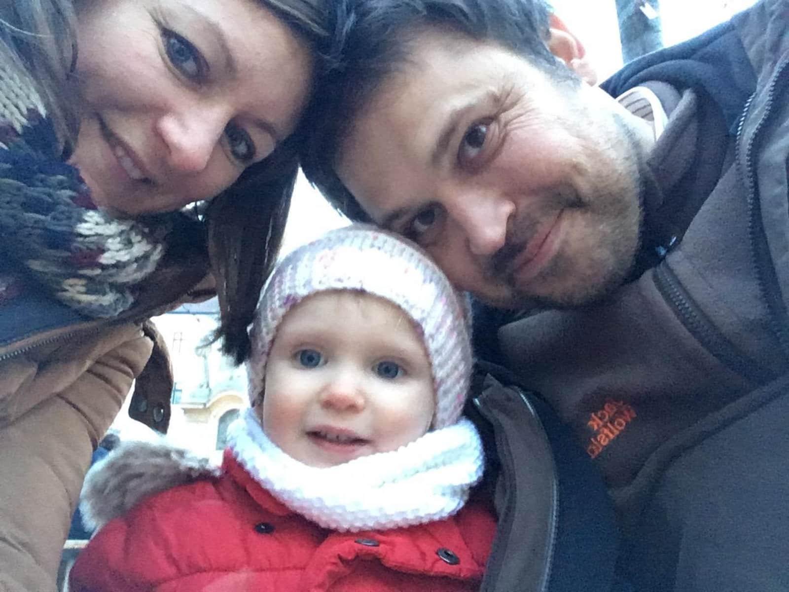 Zita & Istvan from Budapest, Hungary